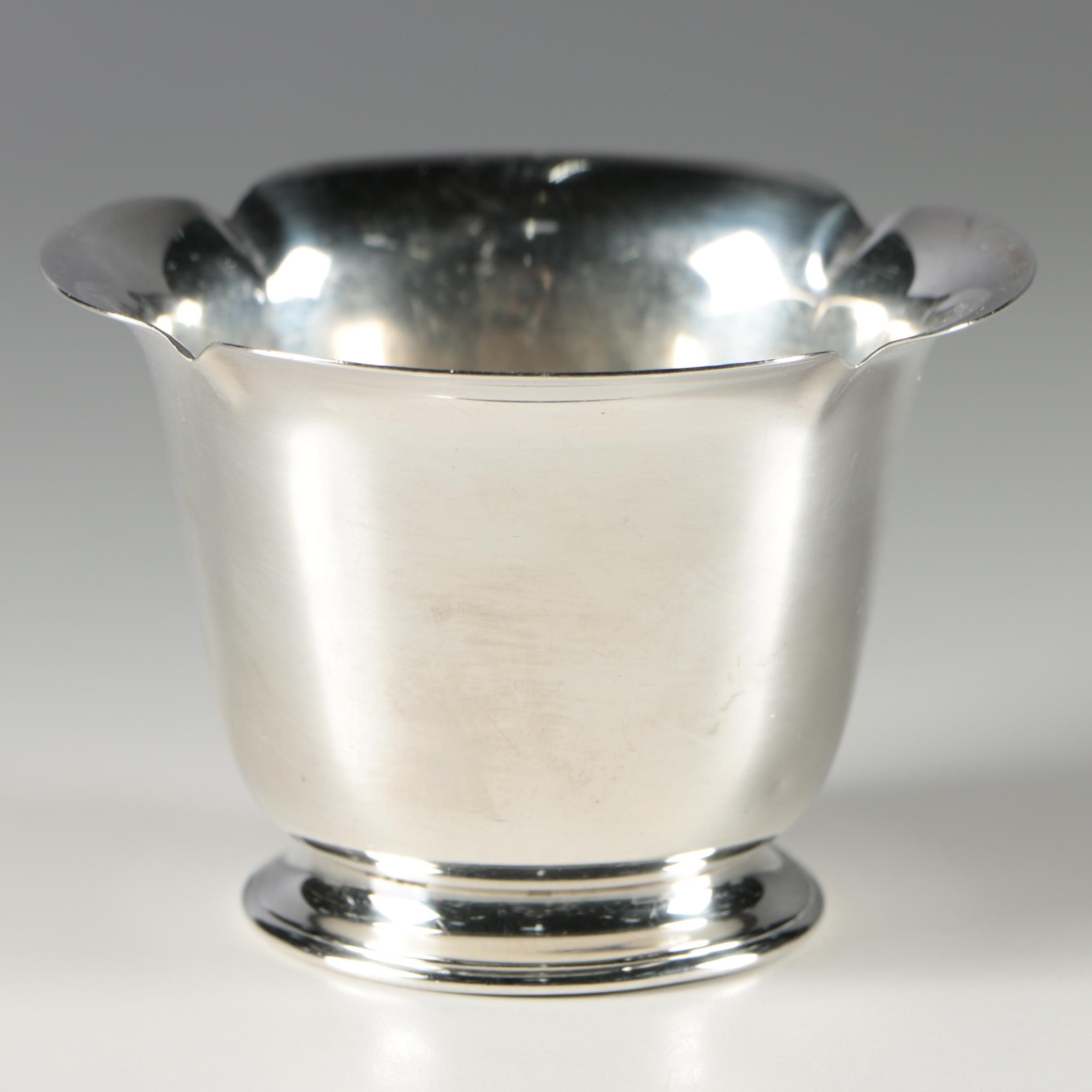 Cartier Sterling Silver Bowl