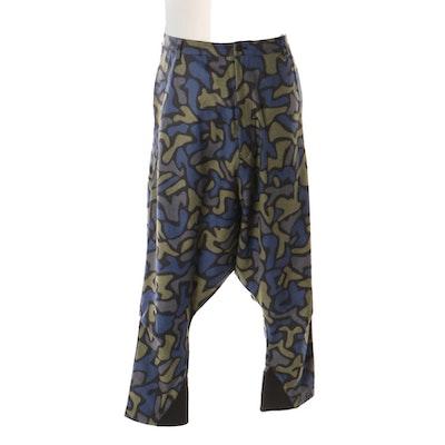 2925d02b9e3af Unisex Y-3 Yohji Yamamoto Adidas Abstract Geometric Print Sarouel Pants