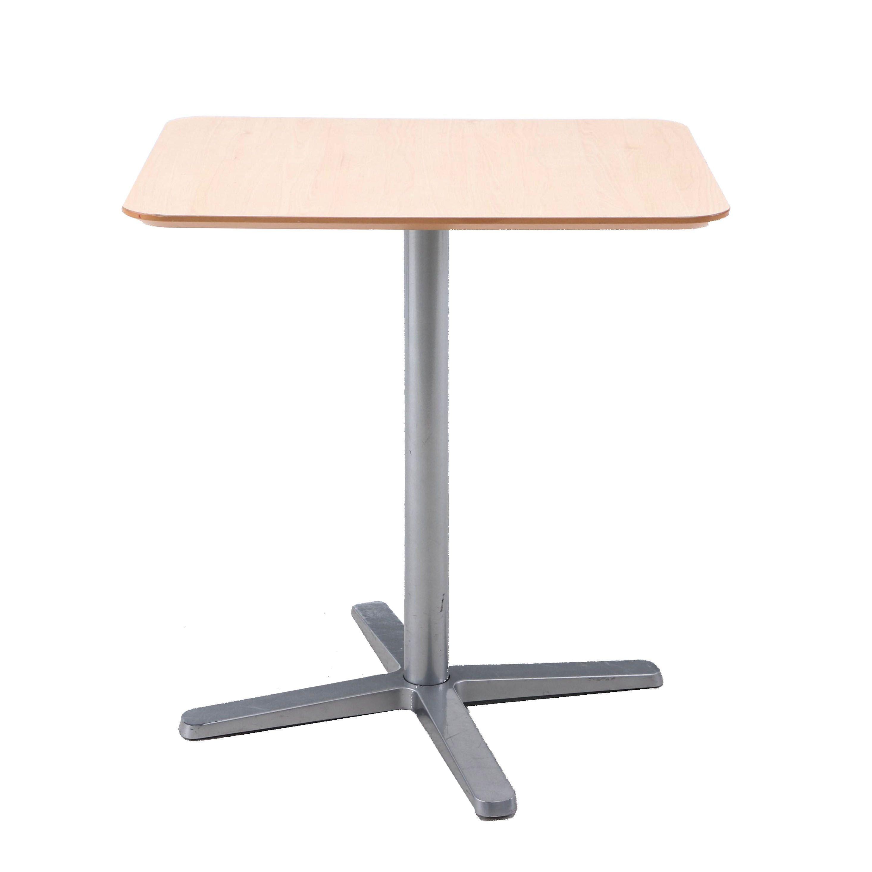 IKEA Billsta Laminate Table with Metal Base