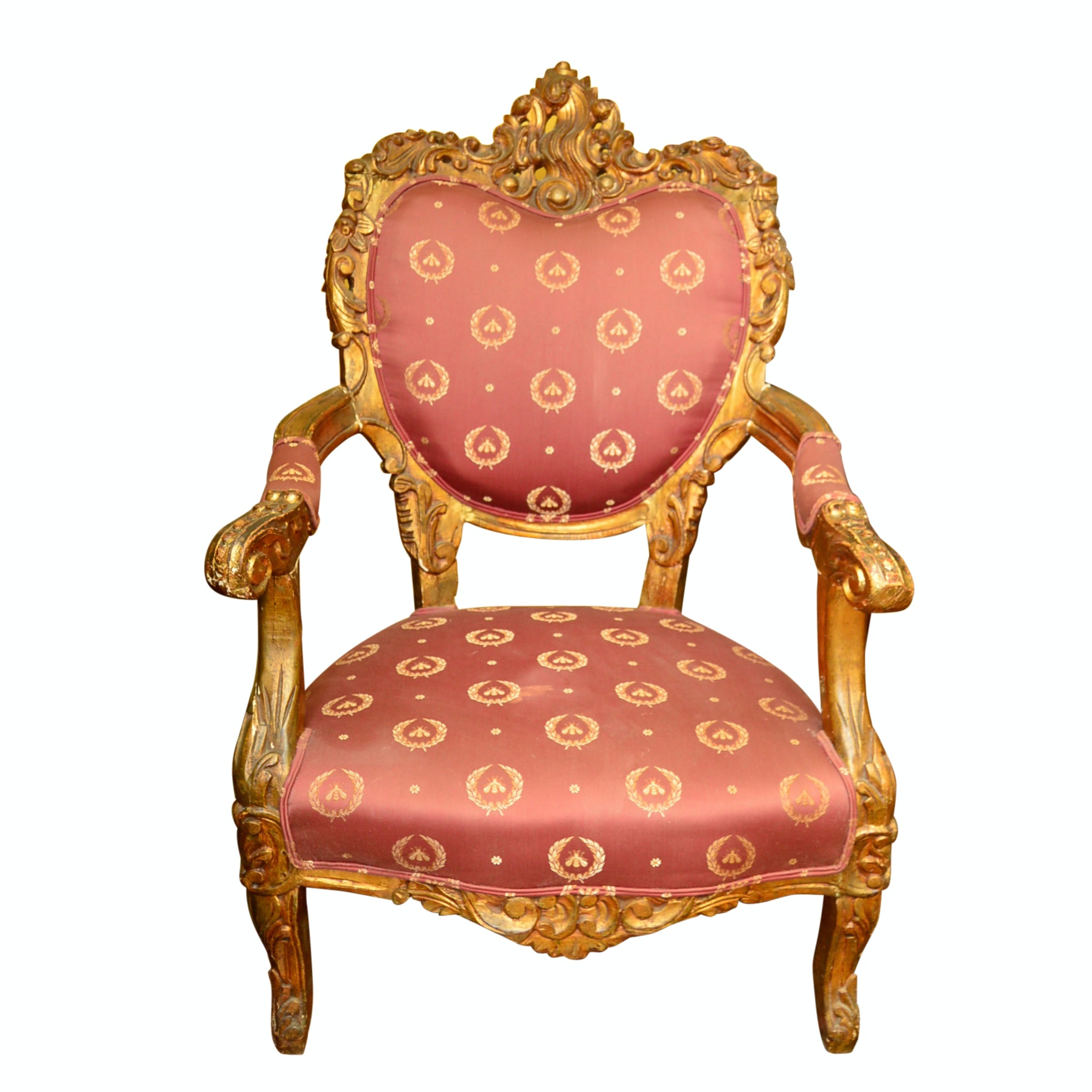 Vintage Louis XV Style Chair