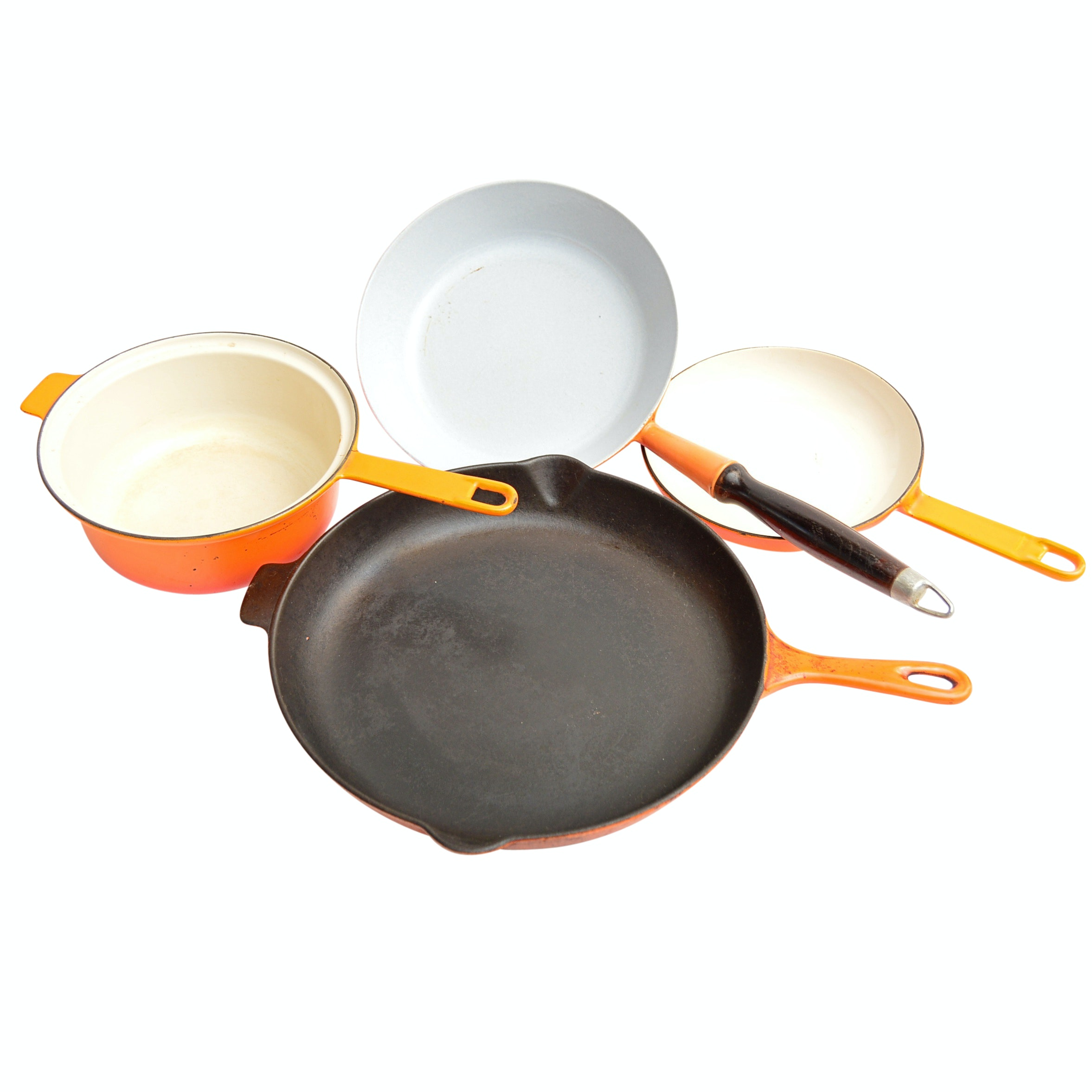 Enamel Cookware with Le Creuset
