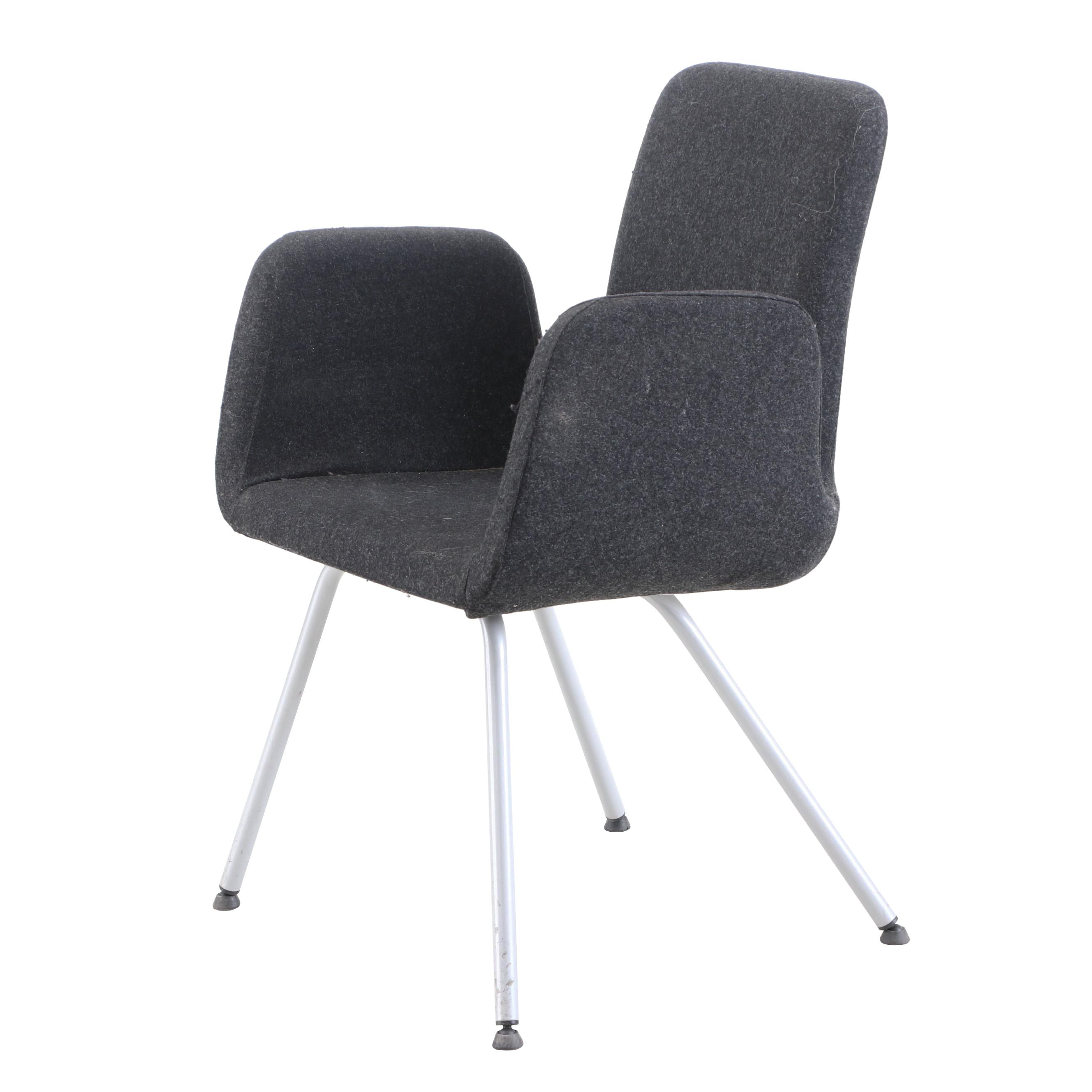 "IKEA ""Patrik"" Desk Chair with Wool Upholstery in Gray"