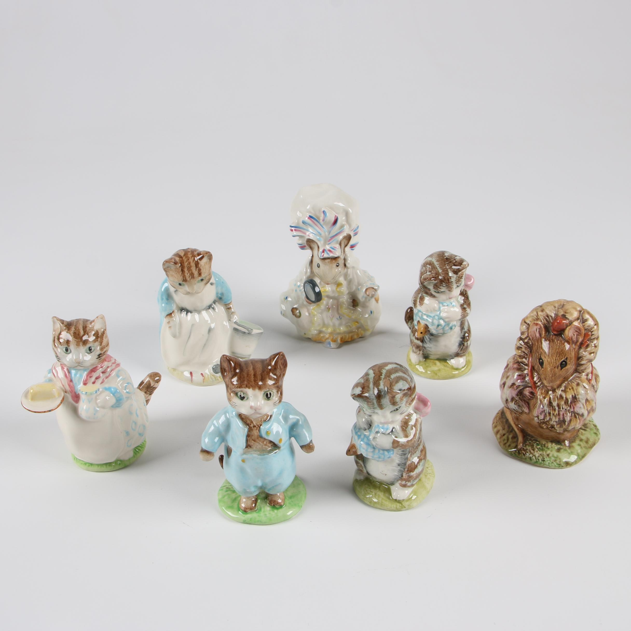 "Royal Albert ""Beatrix Potter"" Character Figurines"
