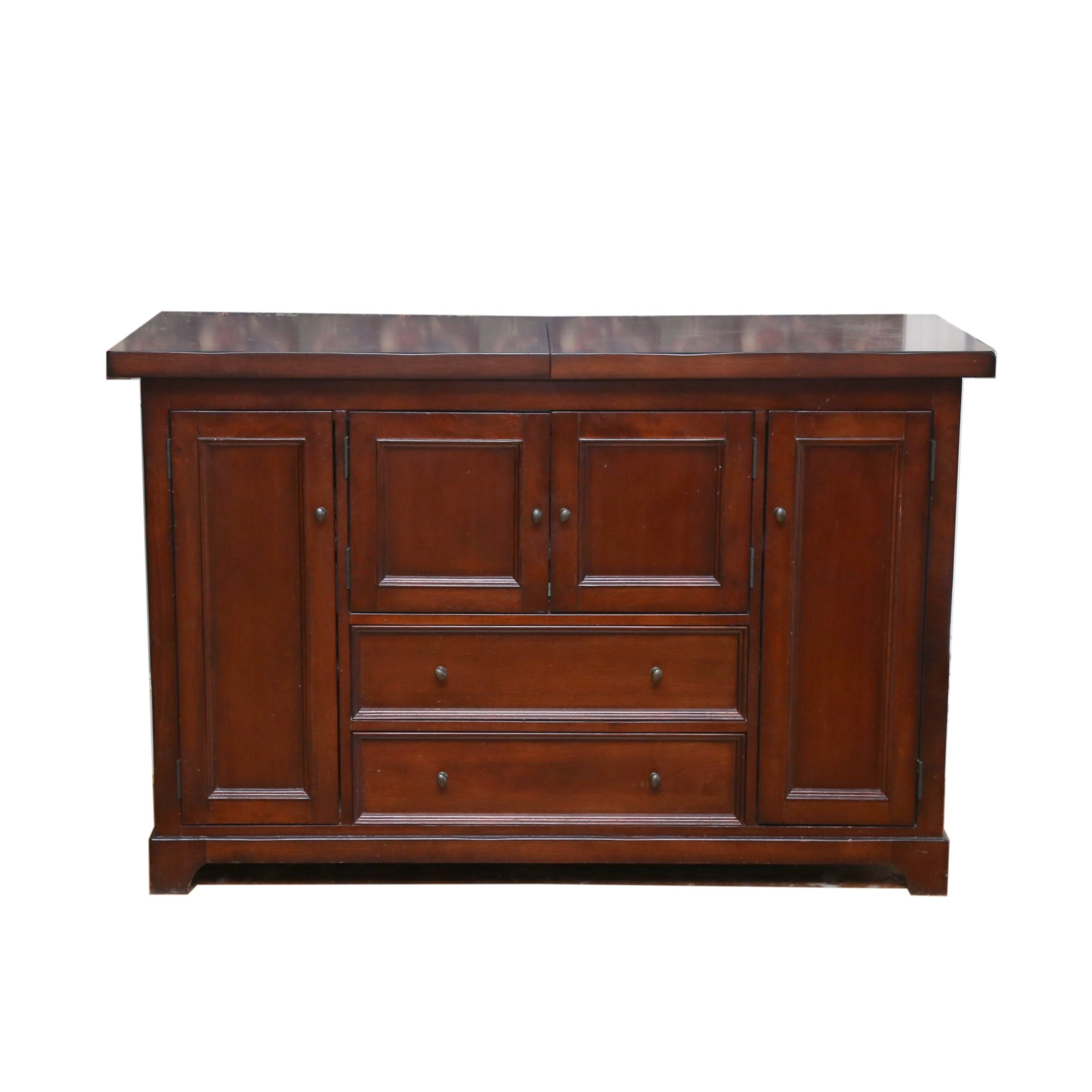 Cherry Stained Sideboard, 21st Century