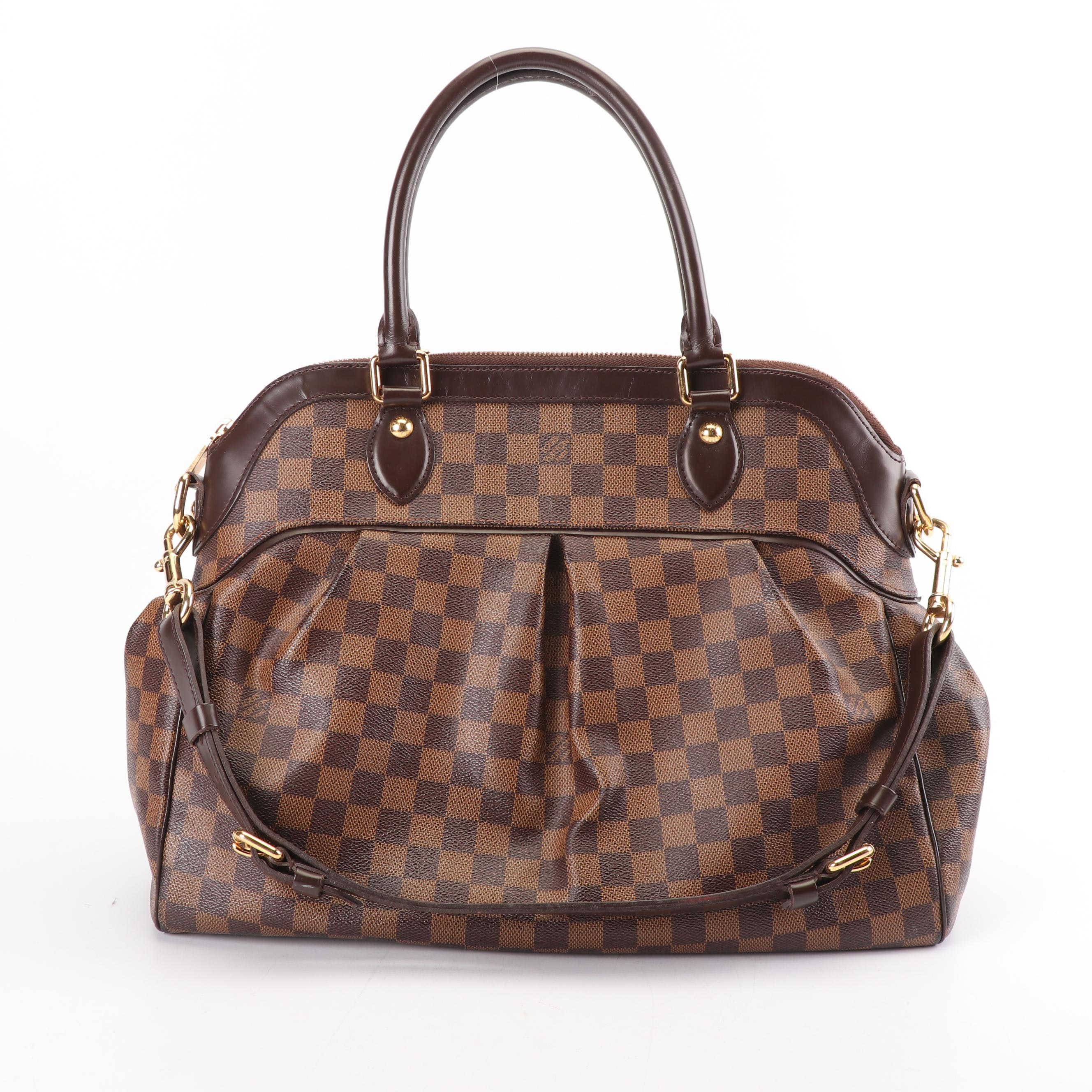 Louis Vuitton Paris Damier Ebene Canvas Trevi GM Handbag, 2009