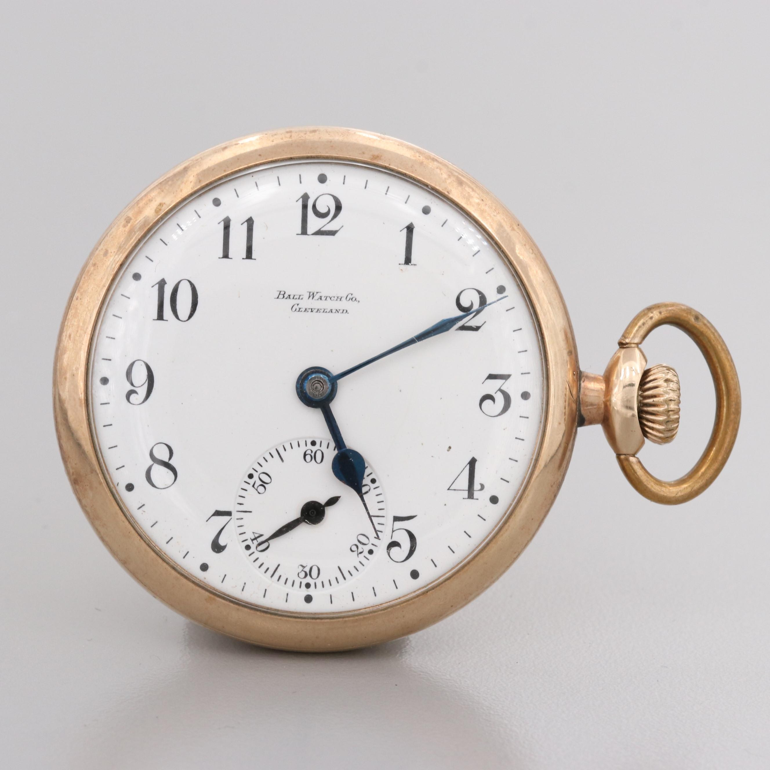 Ball Watch Co. Sidewinder Pocket Watch