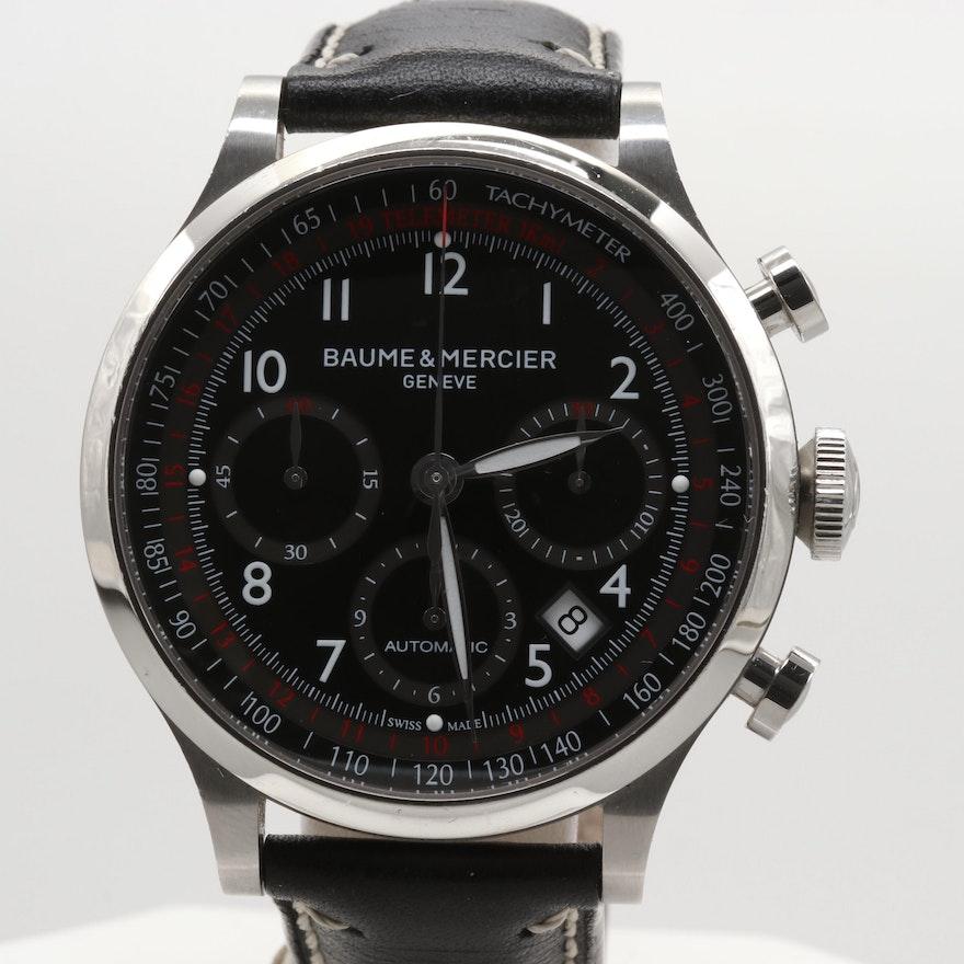 Baume & Mercier Capeland Automatic Chronograph Wristwatch