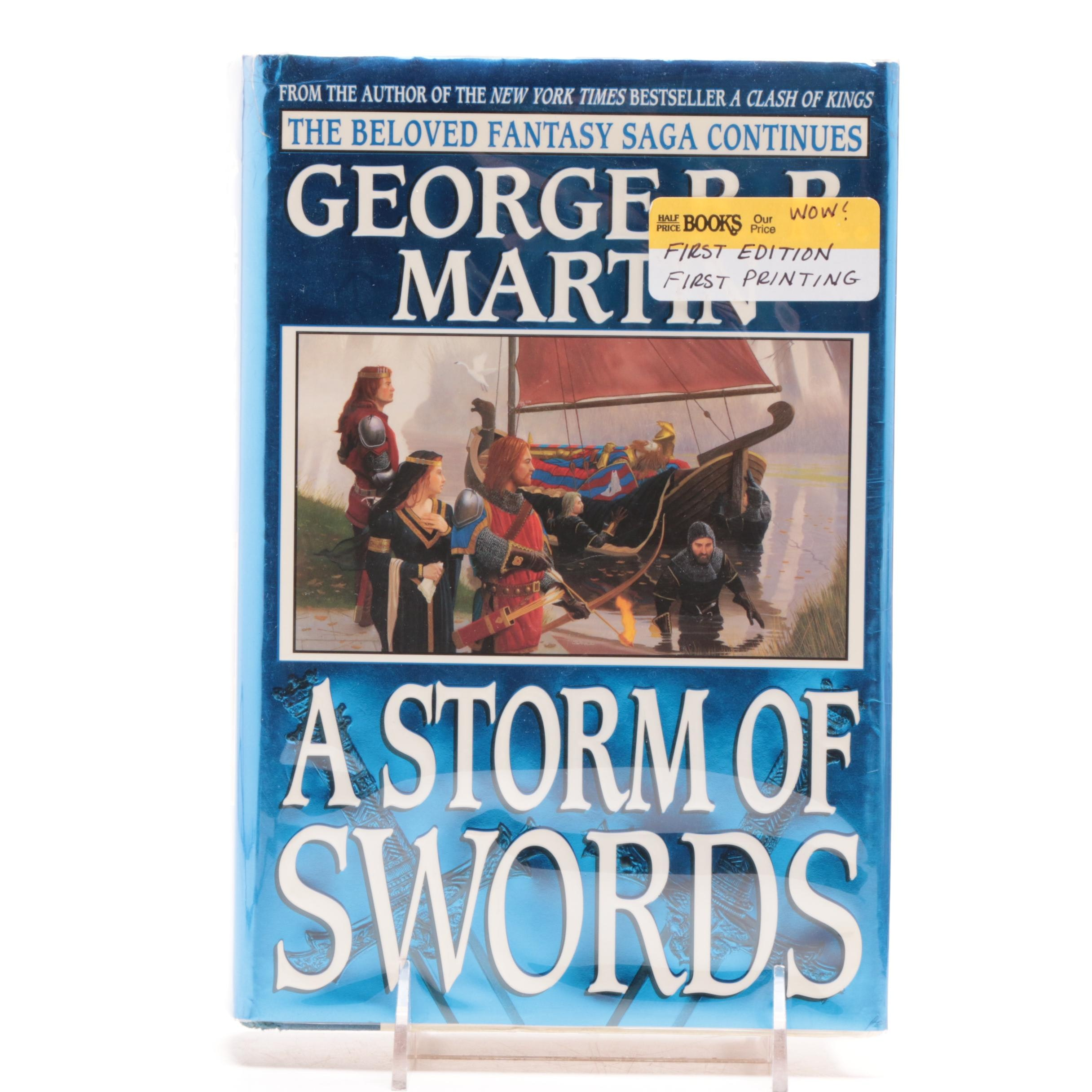 """First Printing """"A Storm of Swords"""" by George R.R. Martin"""