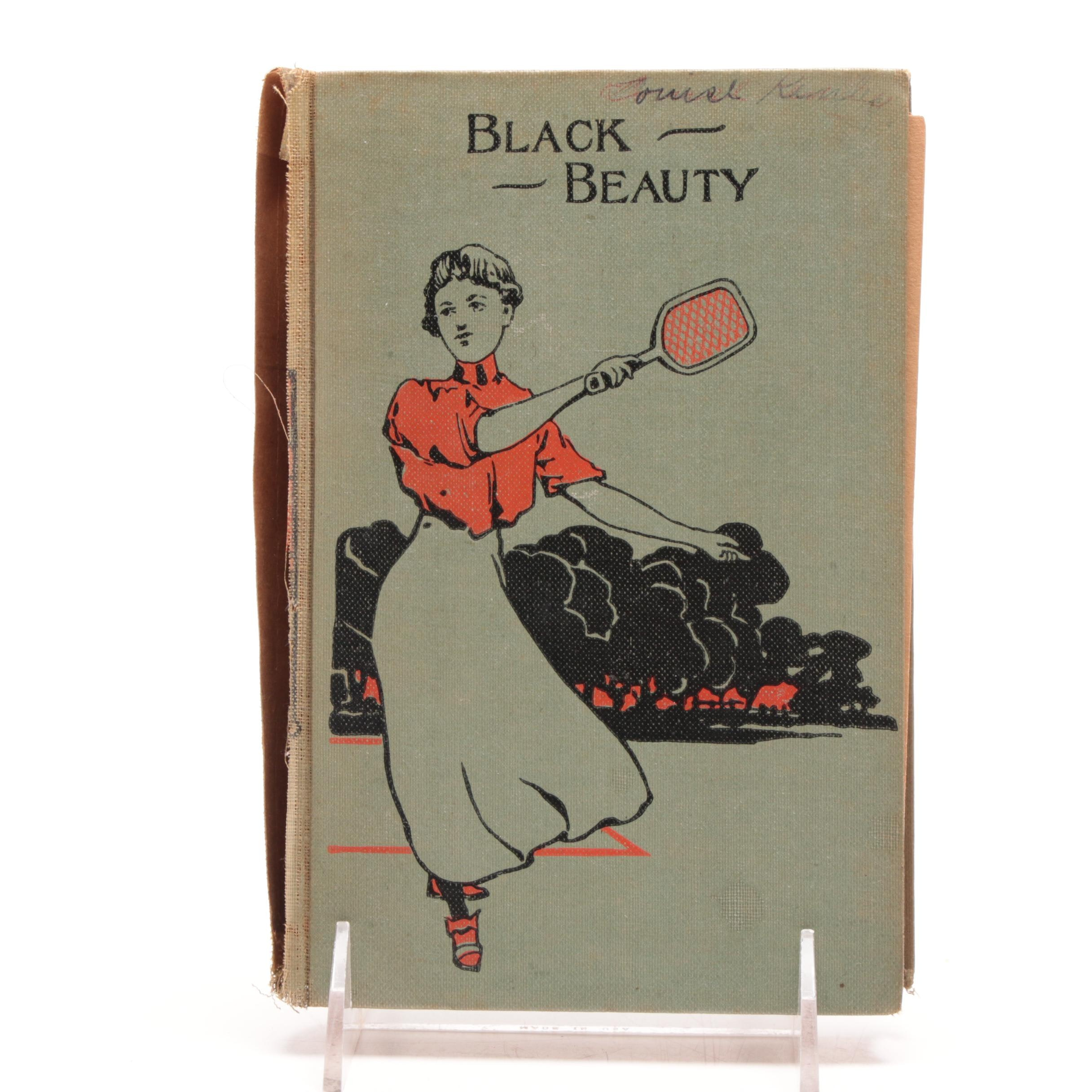 """Misprinted Copy of """"Black Beauty"""" by Anna Sewell"""