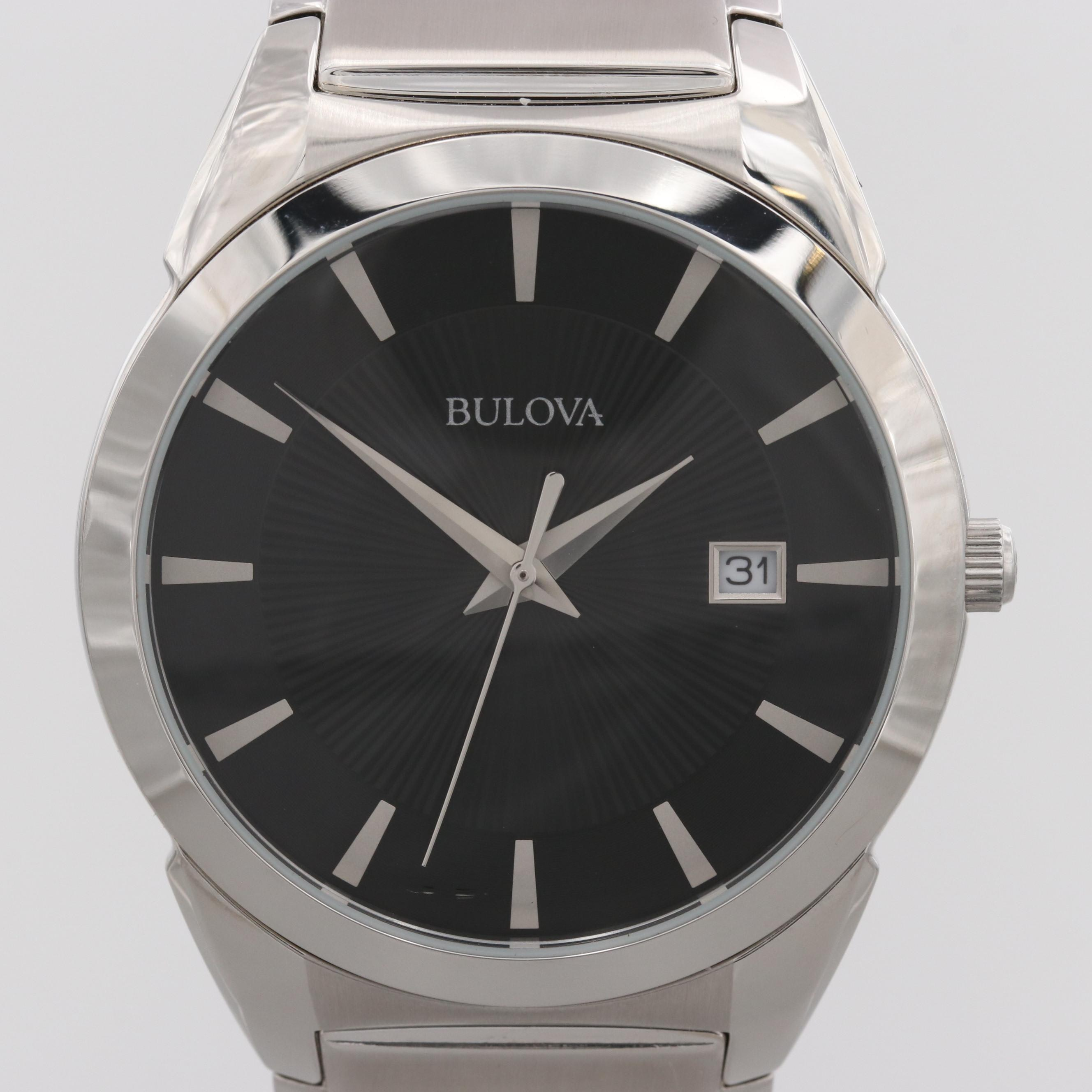 Bulova Classic 96B149 Stainless Steel Quartz Wristwatch