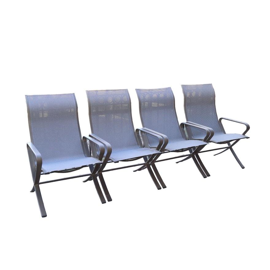 Peachy Metal Patio Chairs By Brown Jordan 21St Century Best Image Libraries Barepthycampuscom