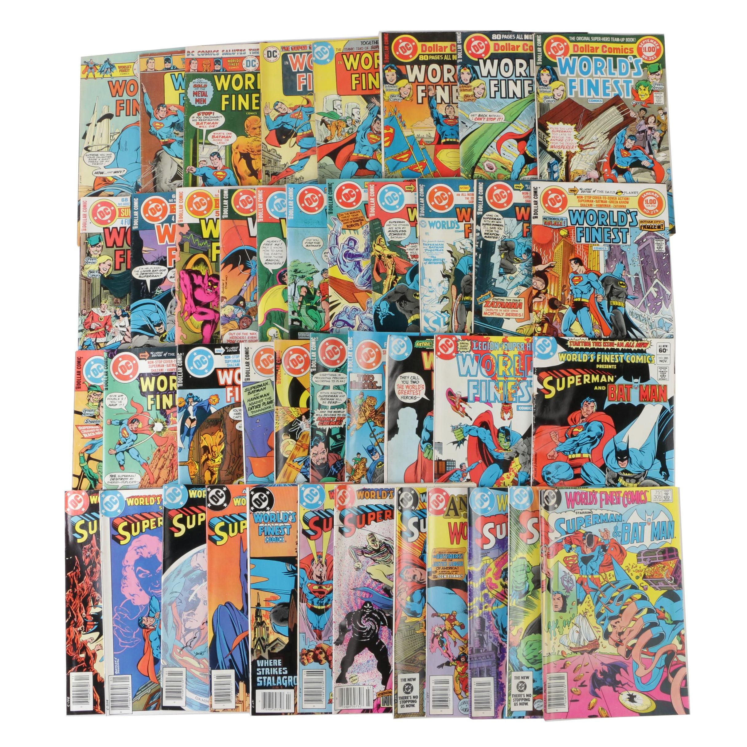 "Bronze Age DC Comics ""World's Finest"" Comic Books, 1970s-1980s"