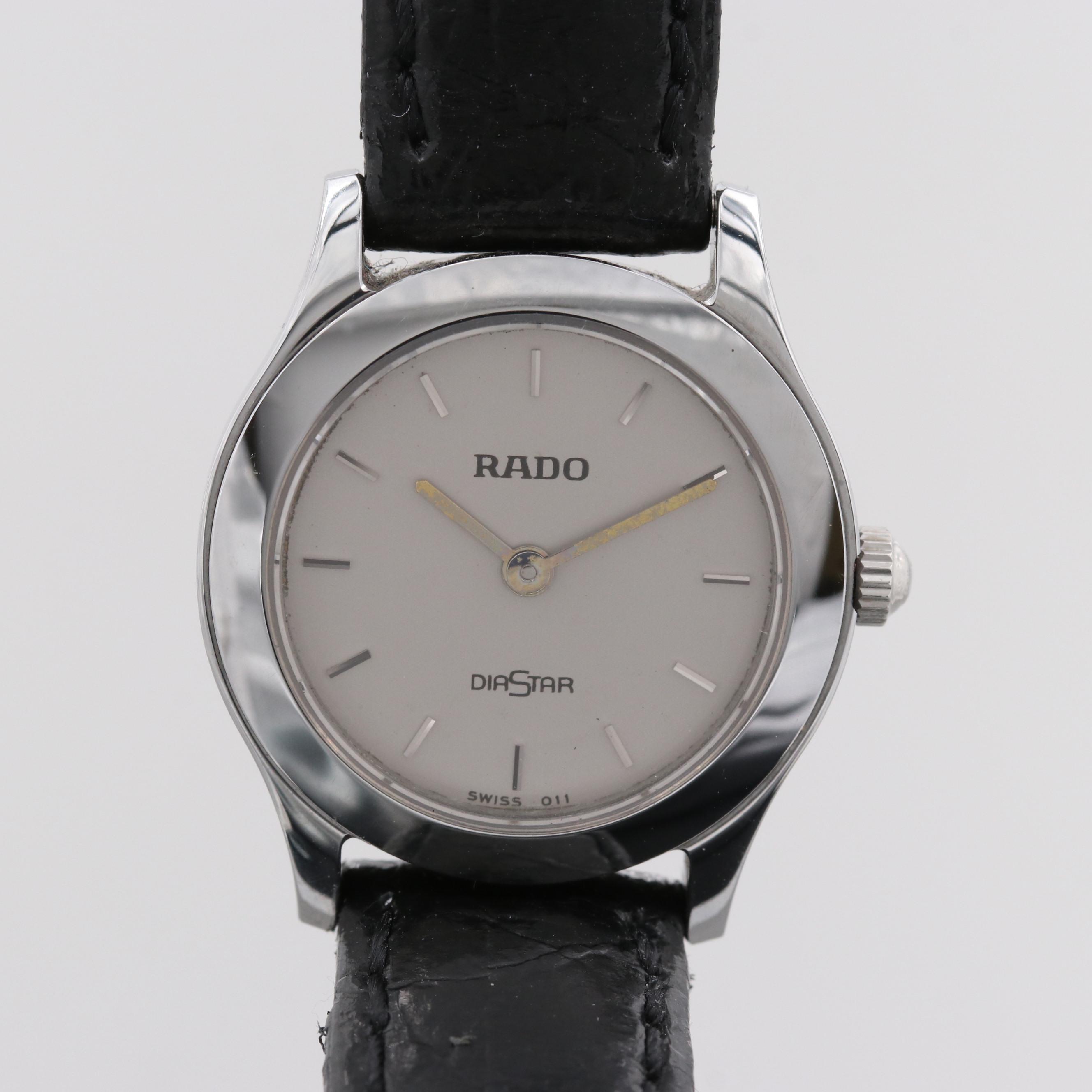 Rado Diastar Stainless Steel Wristwatch