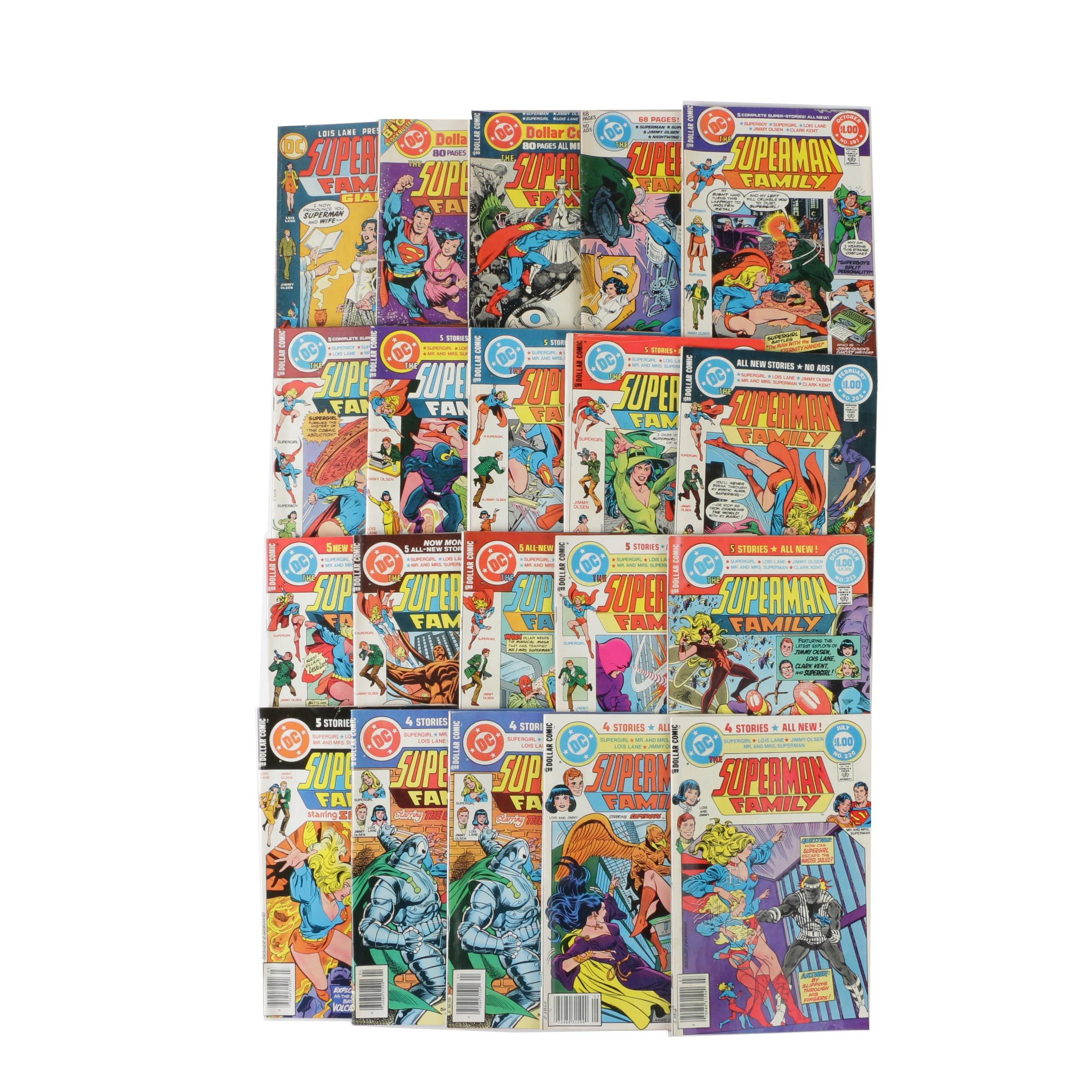 "Bronze Age DC Comics ""The Superman Family"" Comics Books, 1970s-80s"