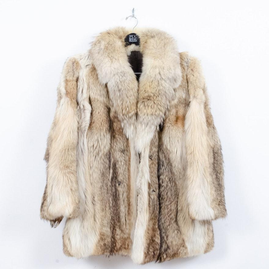 Coyote Fur Coat >> Men S Coyote Fur Coat