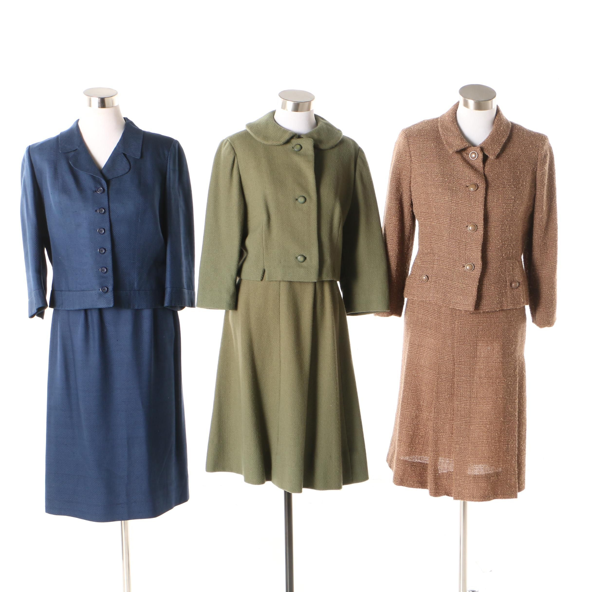 Women's Skirt Suits Including Mary Sachs and Adele California, 1960s Vintage