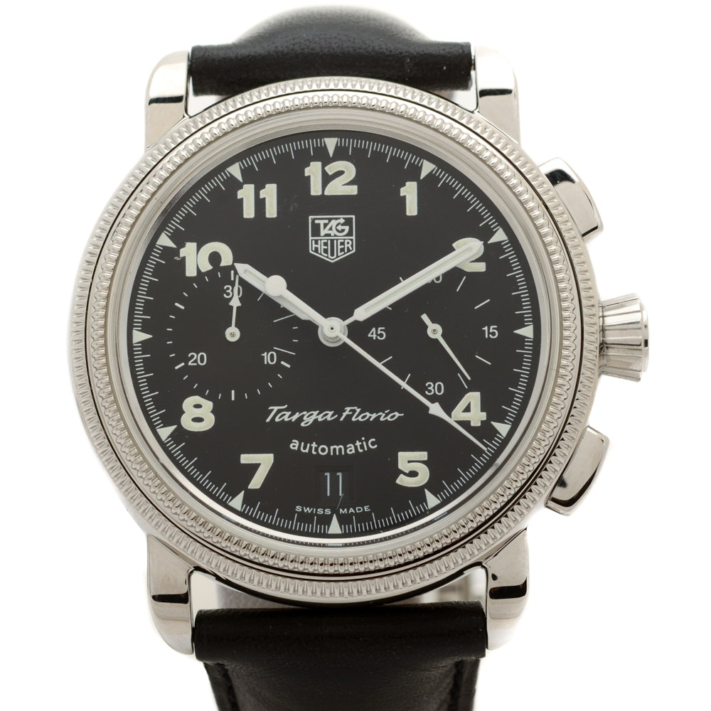 TAG Heuer Targa Florio Automatic Chronograph 40mm Stainless Steel Wristwatch