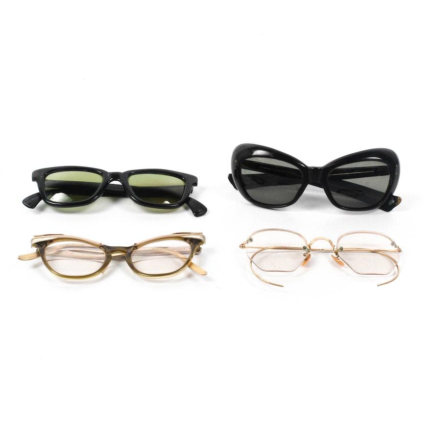 20ecafa8e3 Eyeglasses and Sunglasses Including Gold Filled
