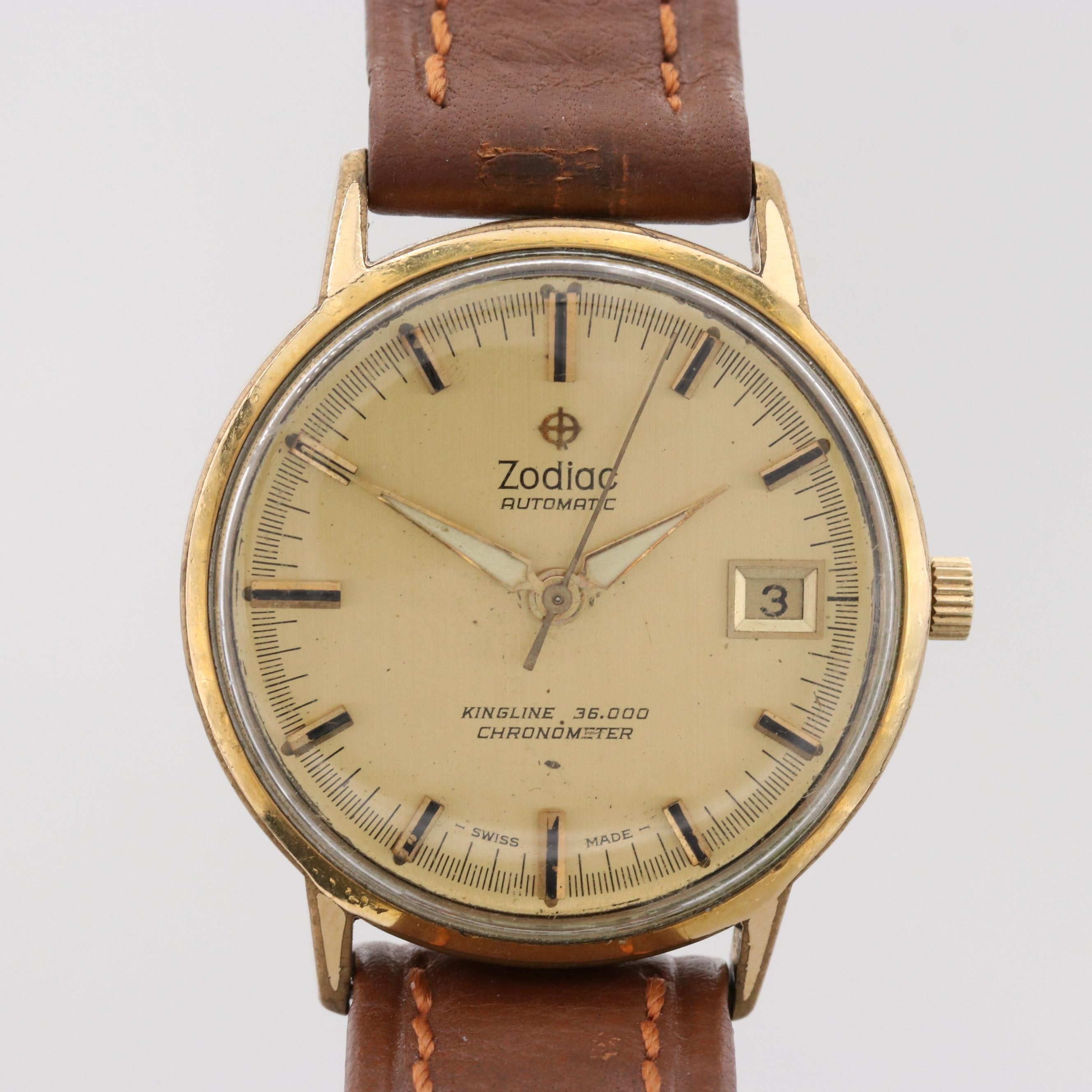Vintage Zodiac Kingline Automatic Wristwatch