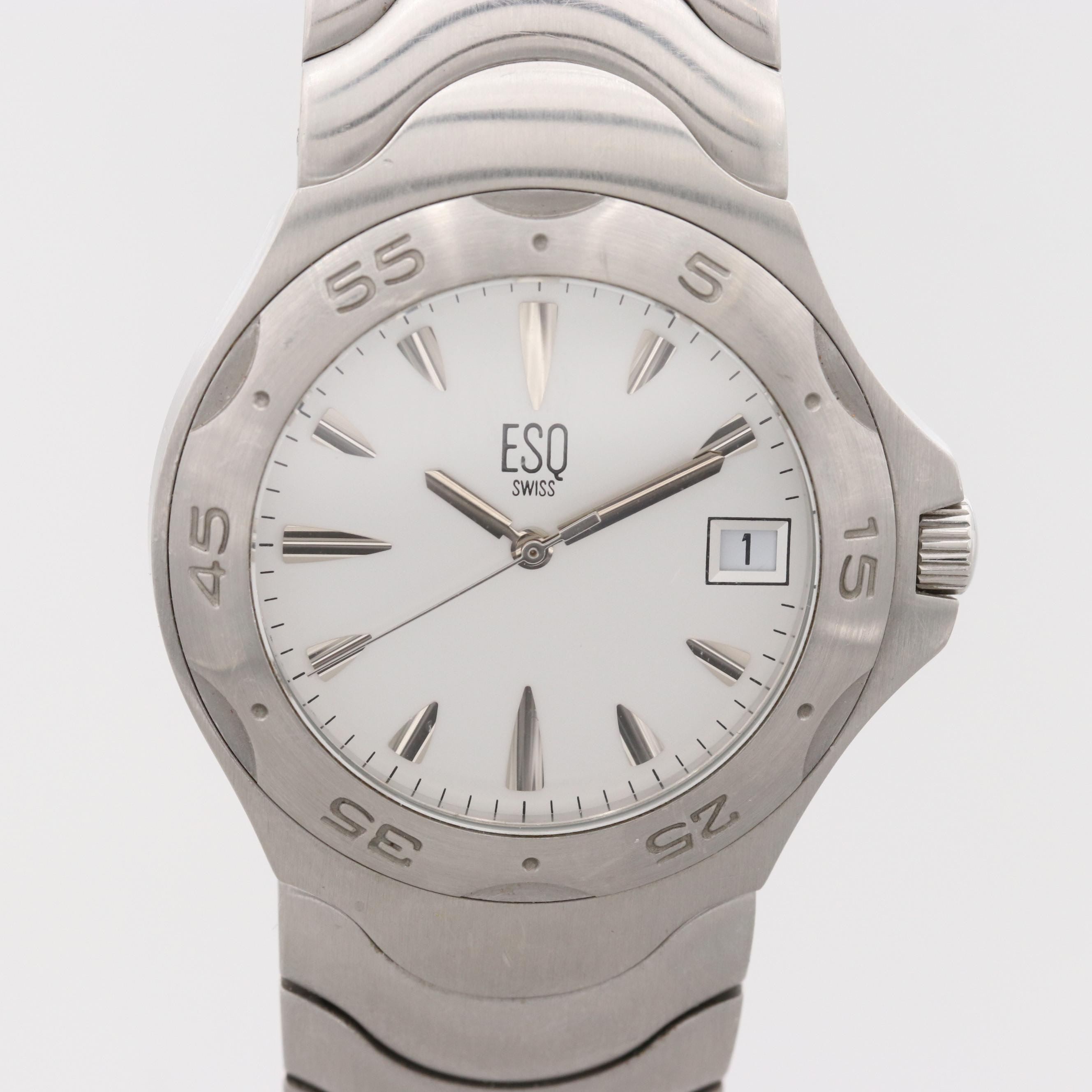 ESQ E5087 Stainless Steel Wristwatch