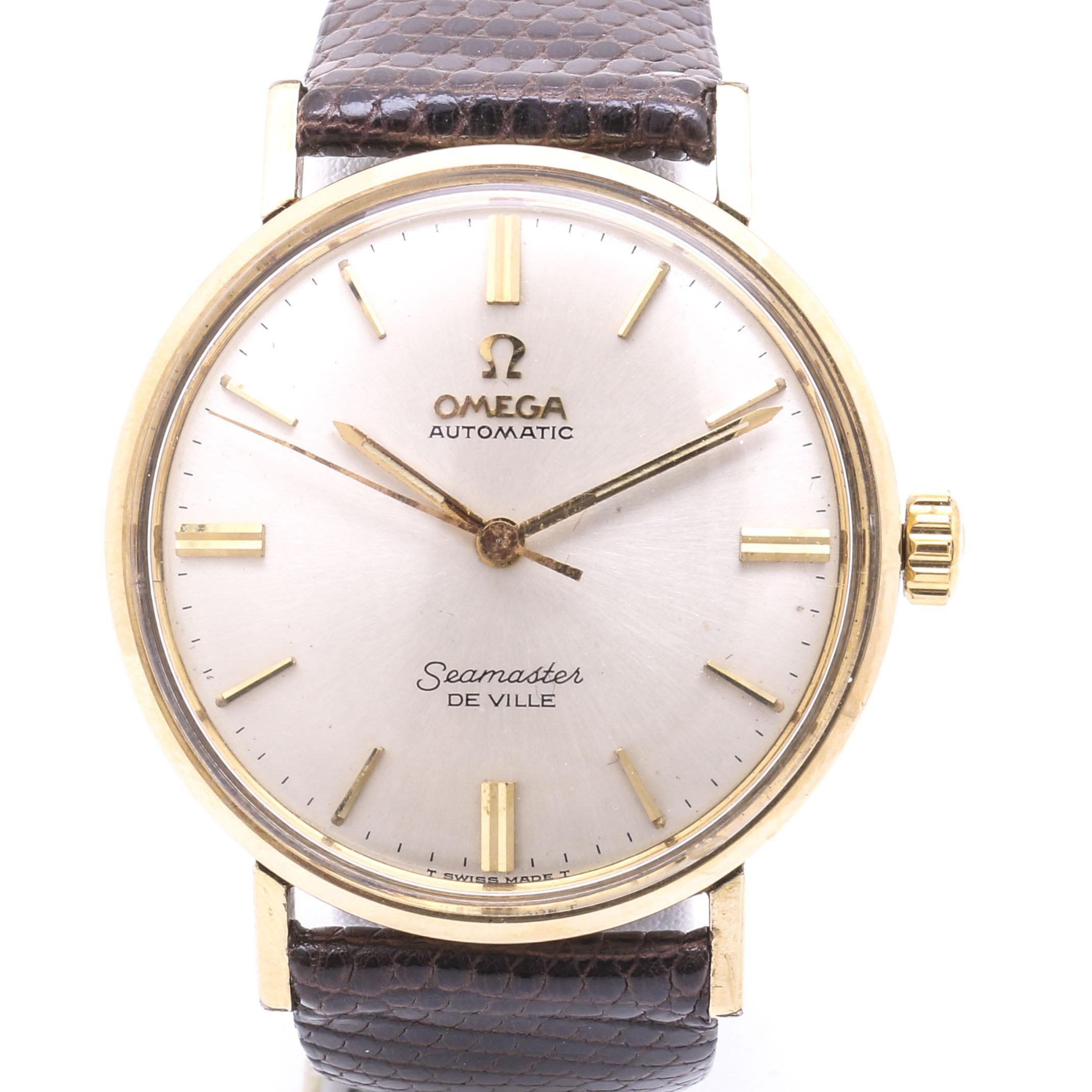 Omega Automatic Seamaster De Ville Wristwatch