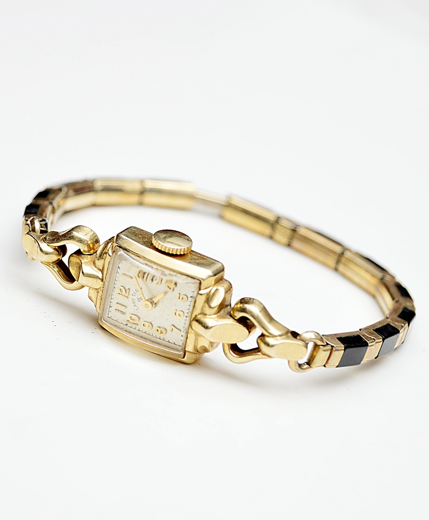 Vintage Lady Elgin Gold Tone Wristwatch