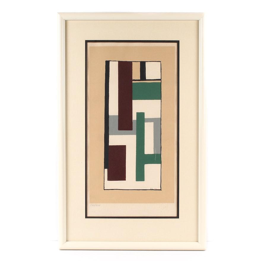 Fernand Léger Serigraph