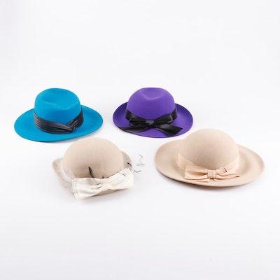 174bb4f98317b Women s Liz Claiborne Felted Wool Hats