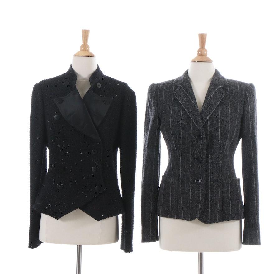 65f1779e31c6 Armani Collezioni Wool Blend Jackets : EBTH