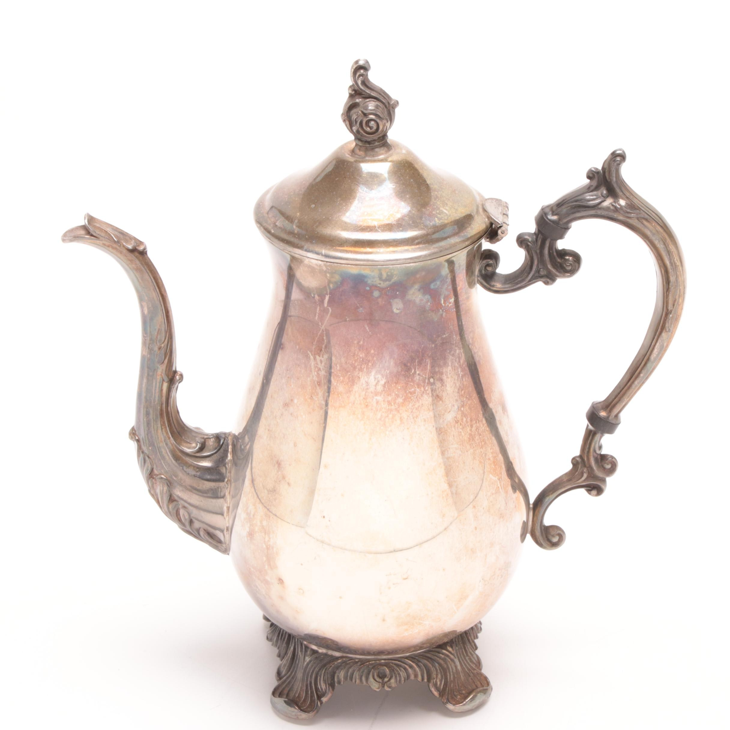 Rogers Silver Plate Coffee Pot