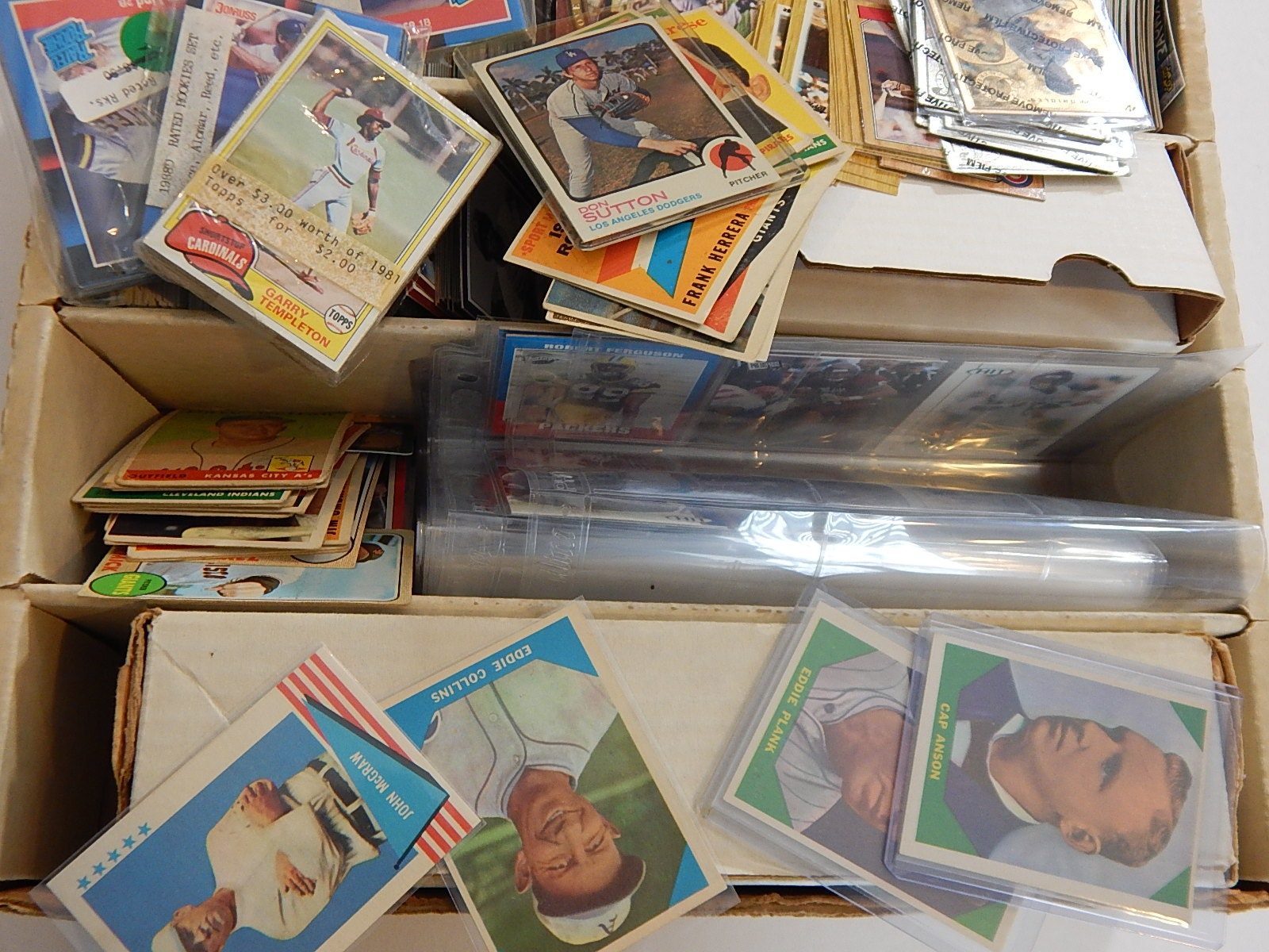 1950s to 2003 Sports Card Collection with Metal Star Cards, Gold Ripken Jr.