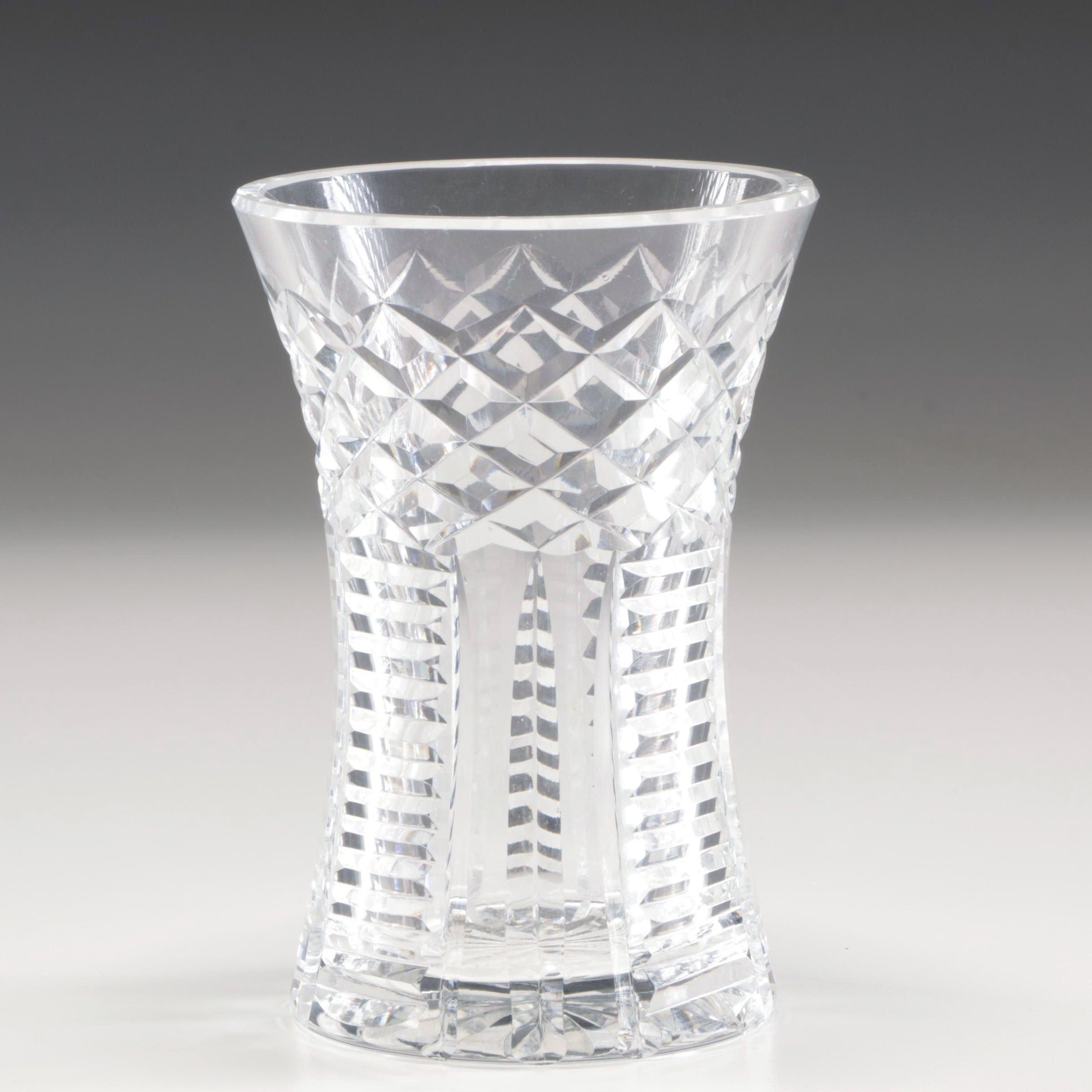 Barry Crompton & Waterford Crystal Flower Vase