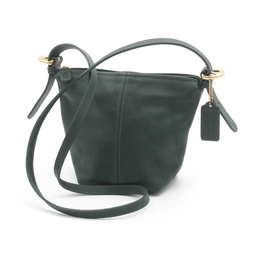 Coach Green Leather Crossbody Bag 866a72cac2706