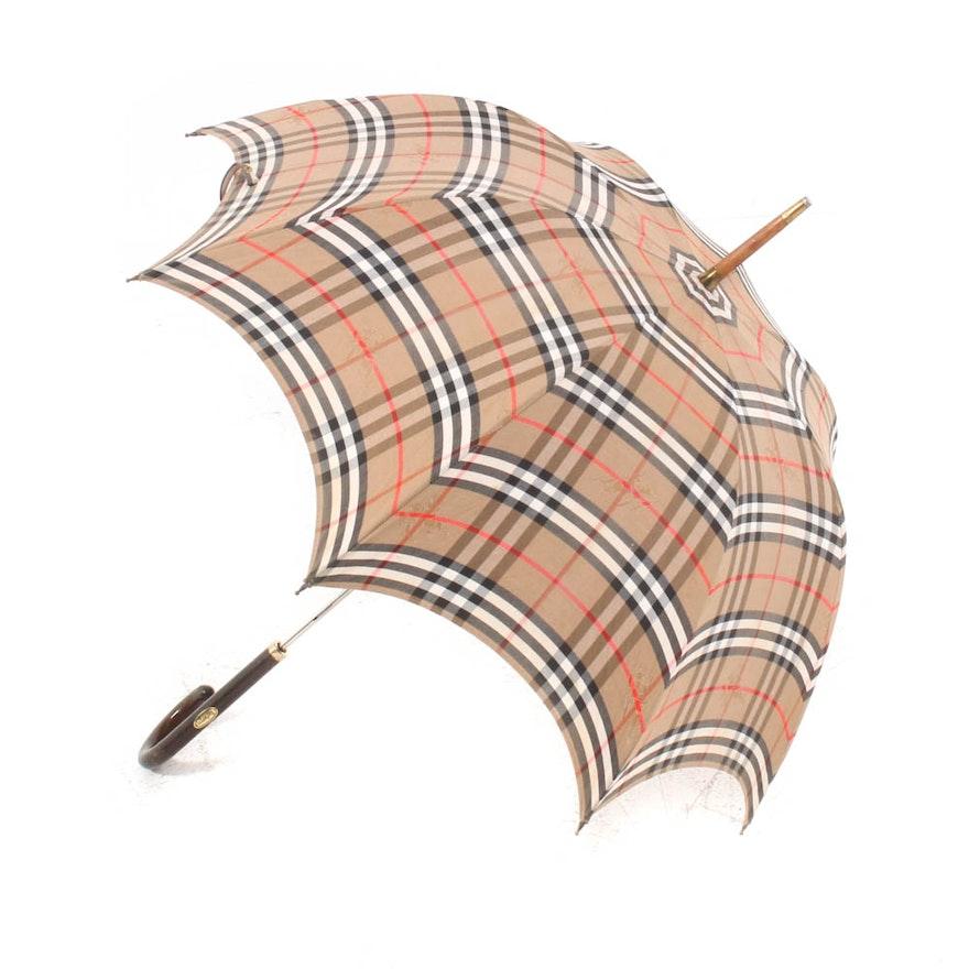 "Burberrys of London ""Haymarket Check"" Umbrella"
