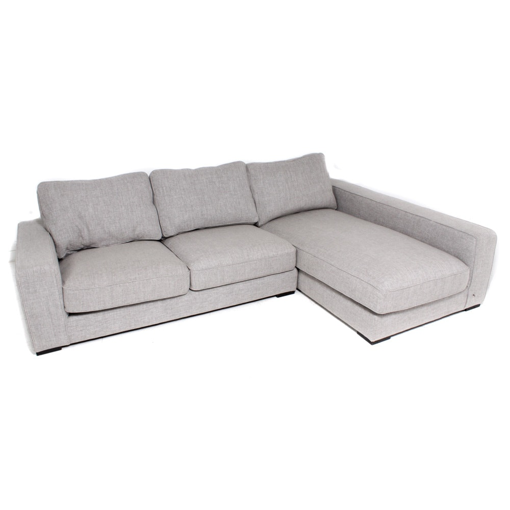 Interior Define Two-Piece Sectional Sofa