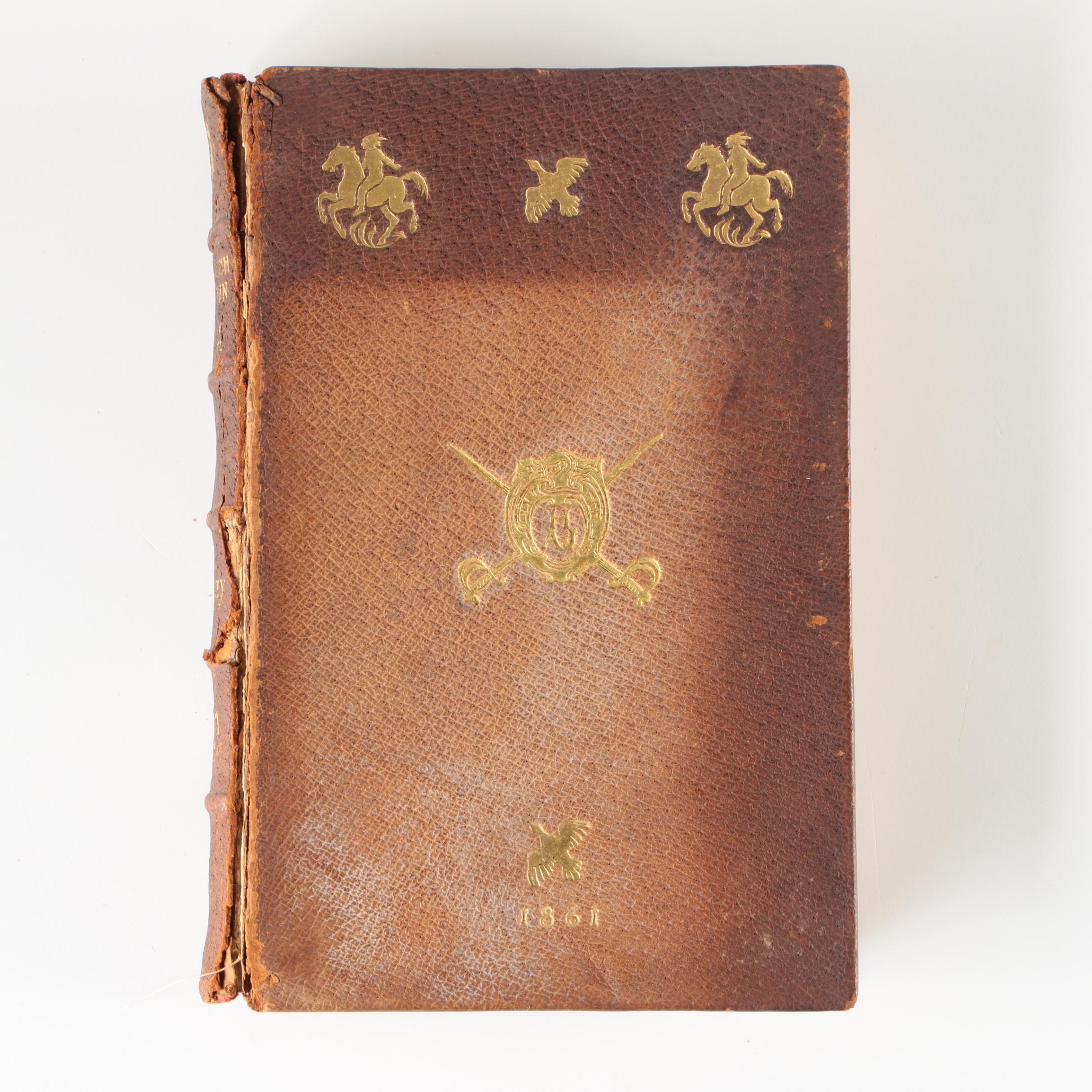 "1861 ""The English Sportsman in the Western Prairies"" by Berkeley"