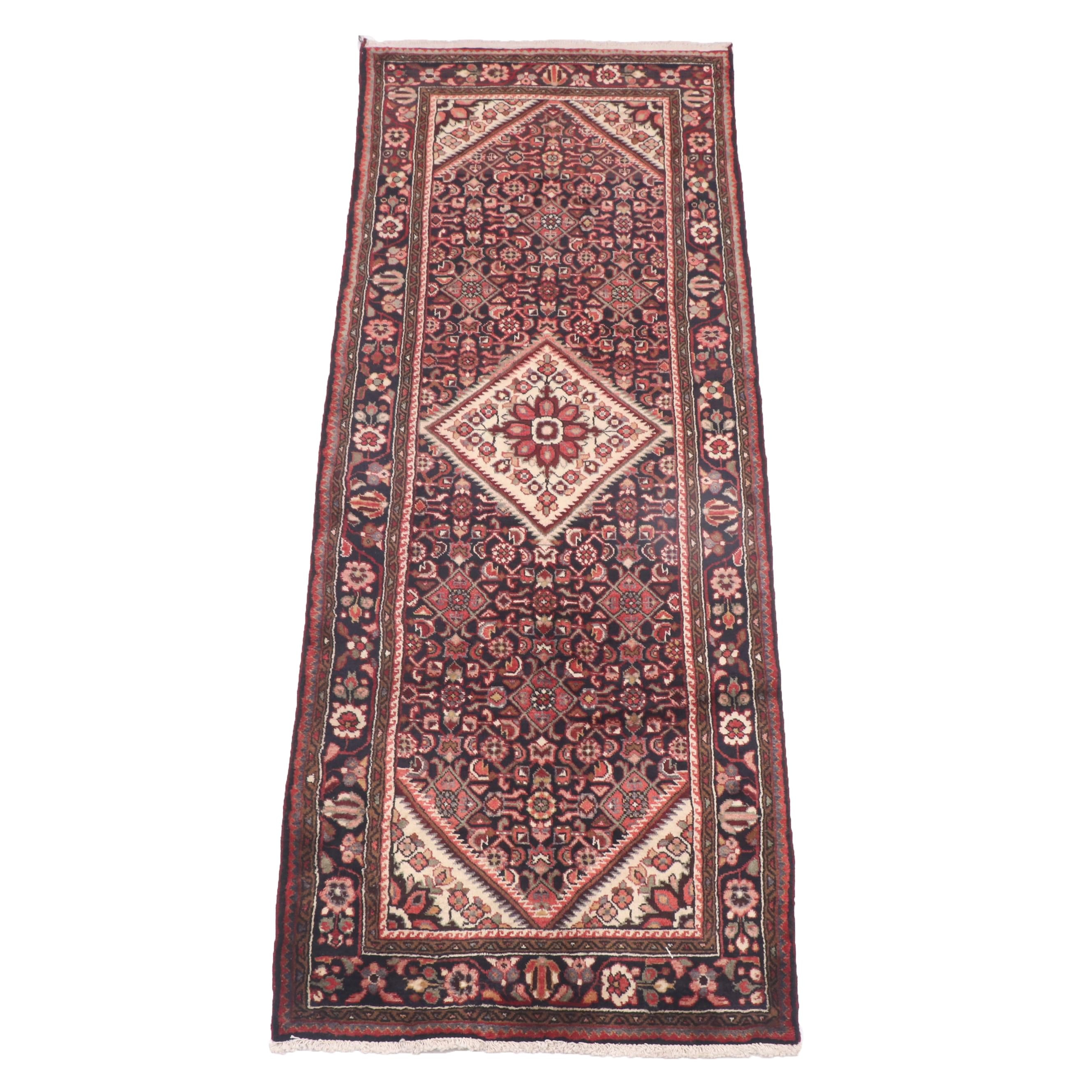 Hand-Knotted Persian Luri Wool Long Rug