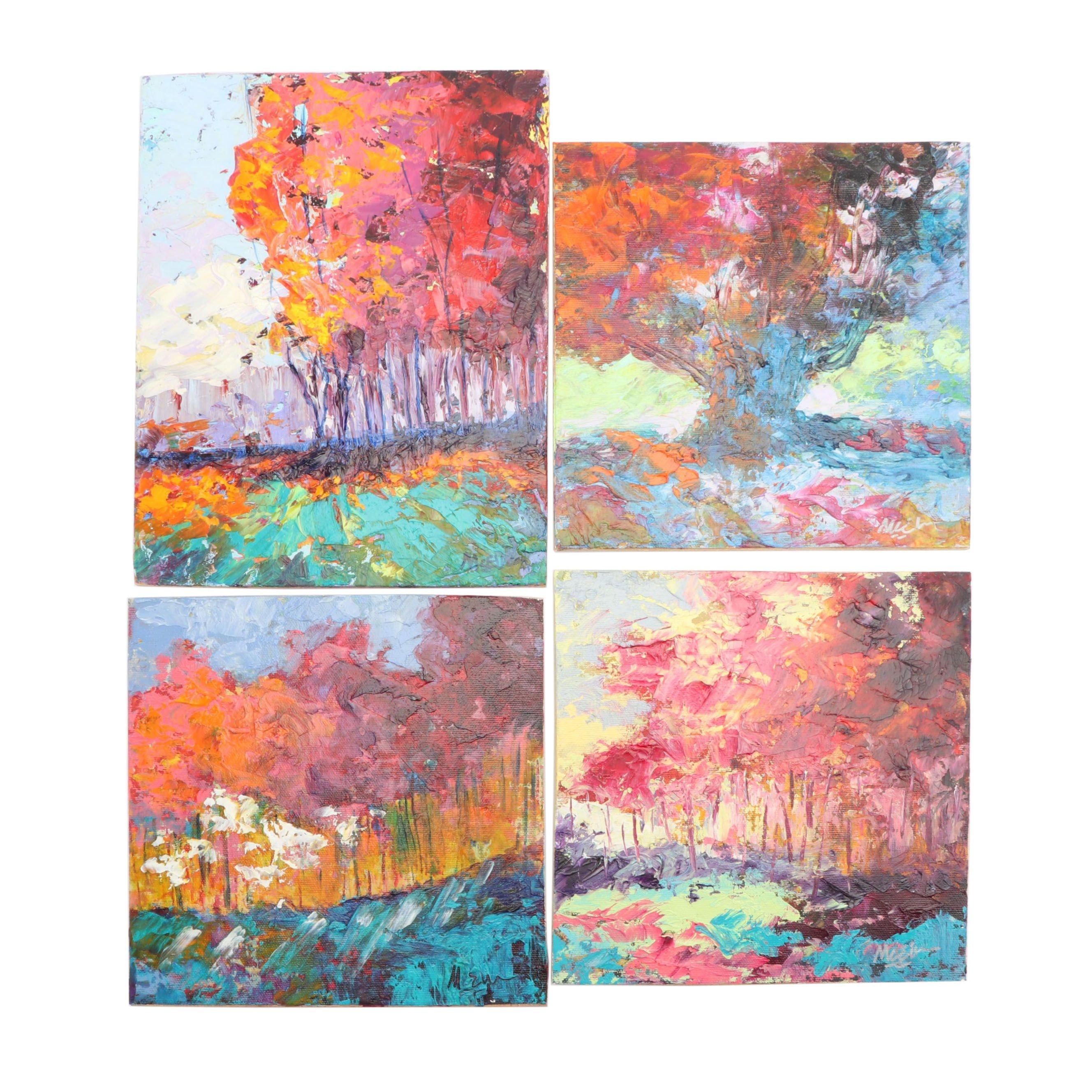 Claire McElveen Landscape Oil Paintings