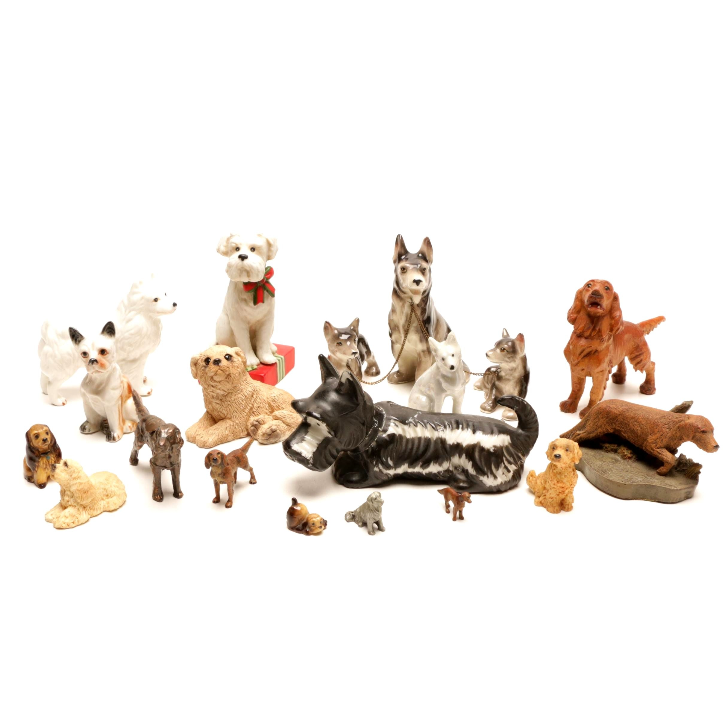 Decorative Dog Figurines of All Sizes
