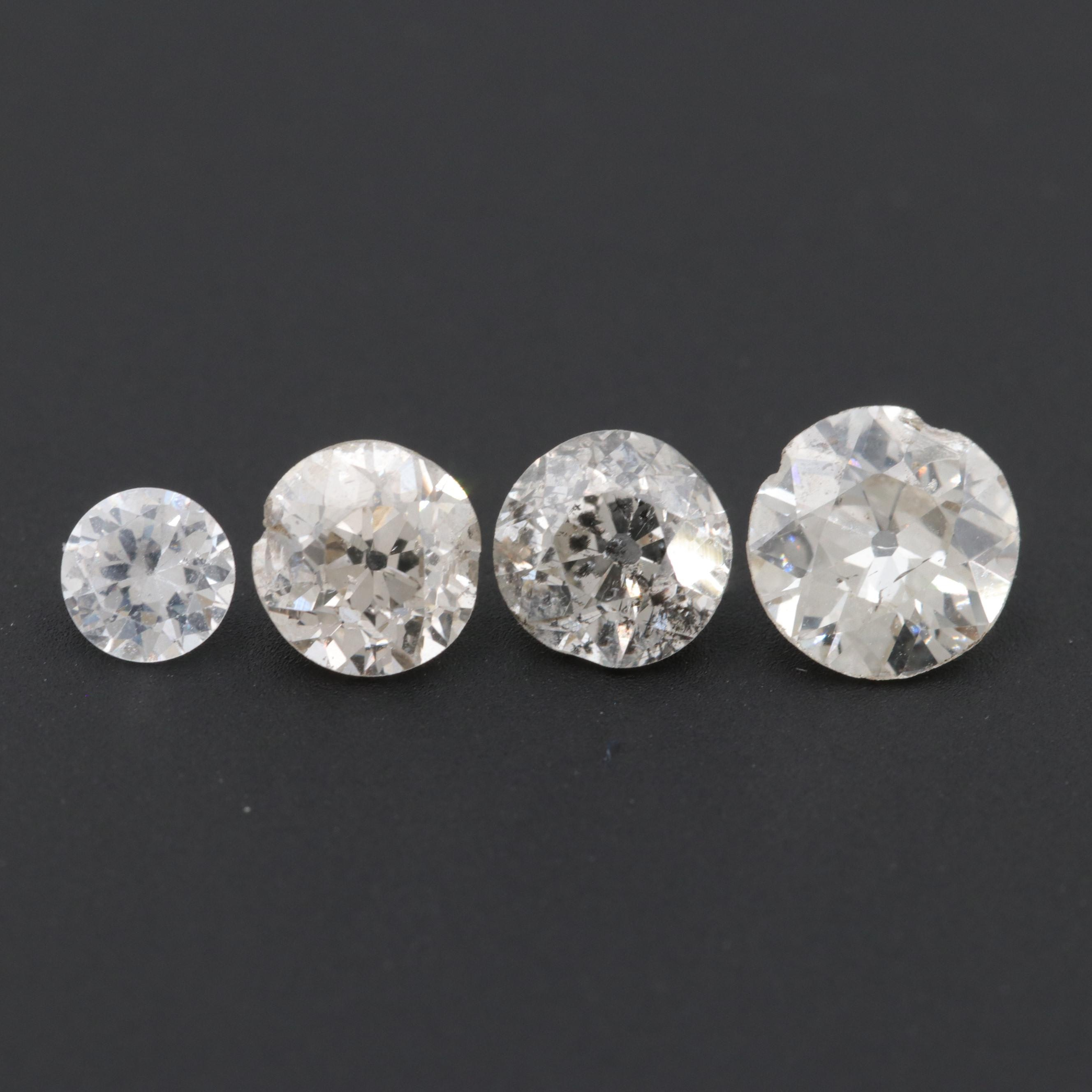 Loose 1.81 CTW Diamonds