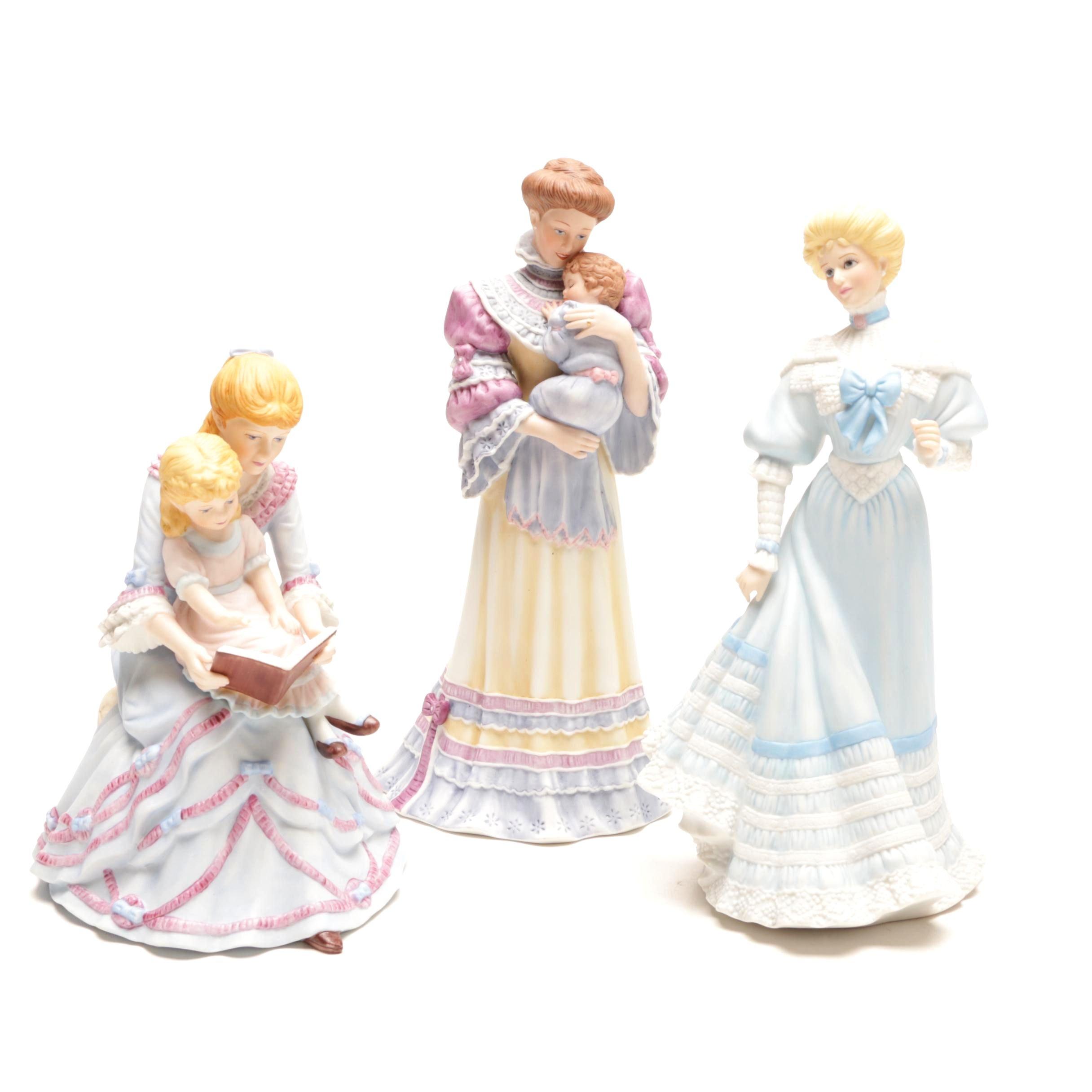 Decorative Porcelain Figurines Featuring Gorham and Lenox