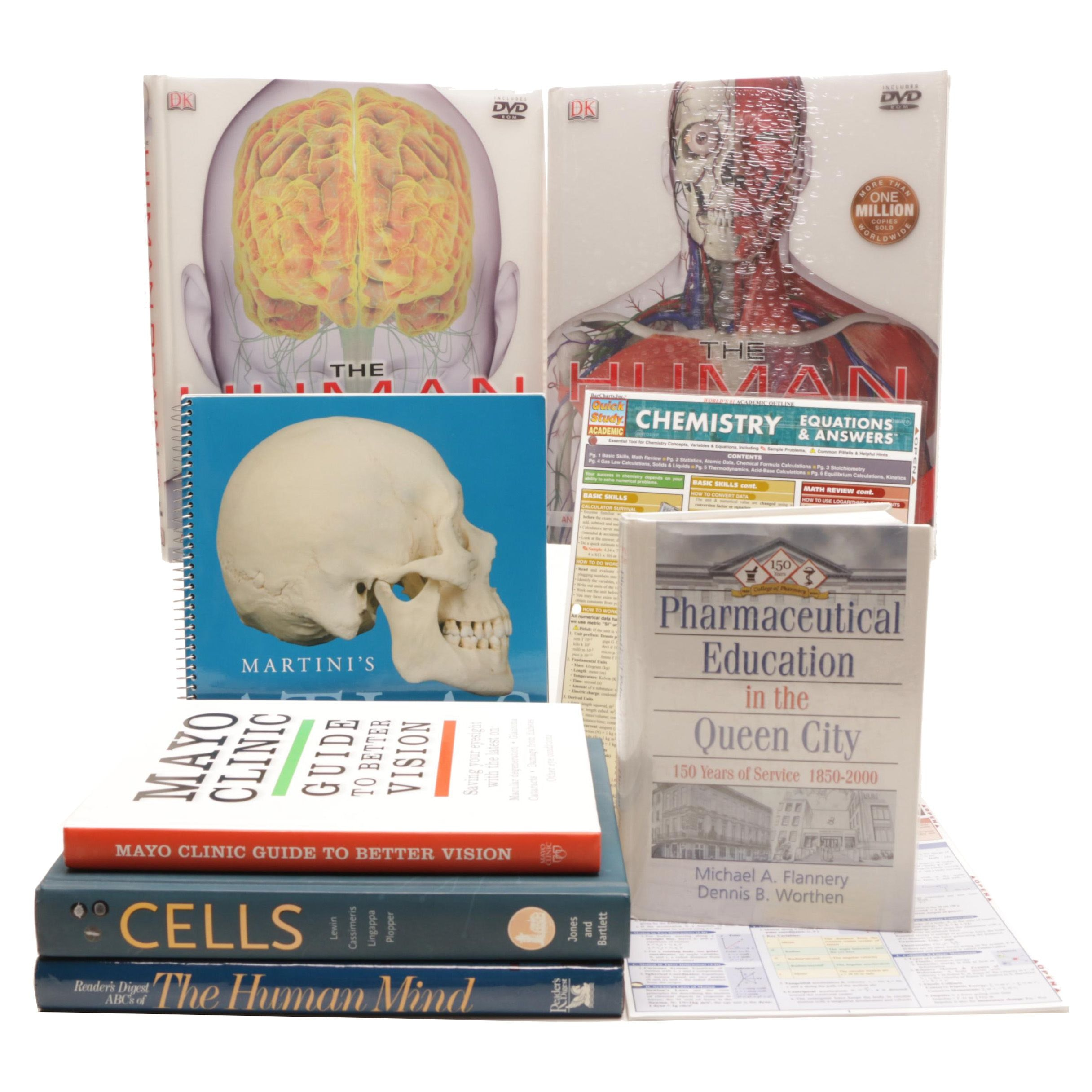 Books on Anatomy and Science