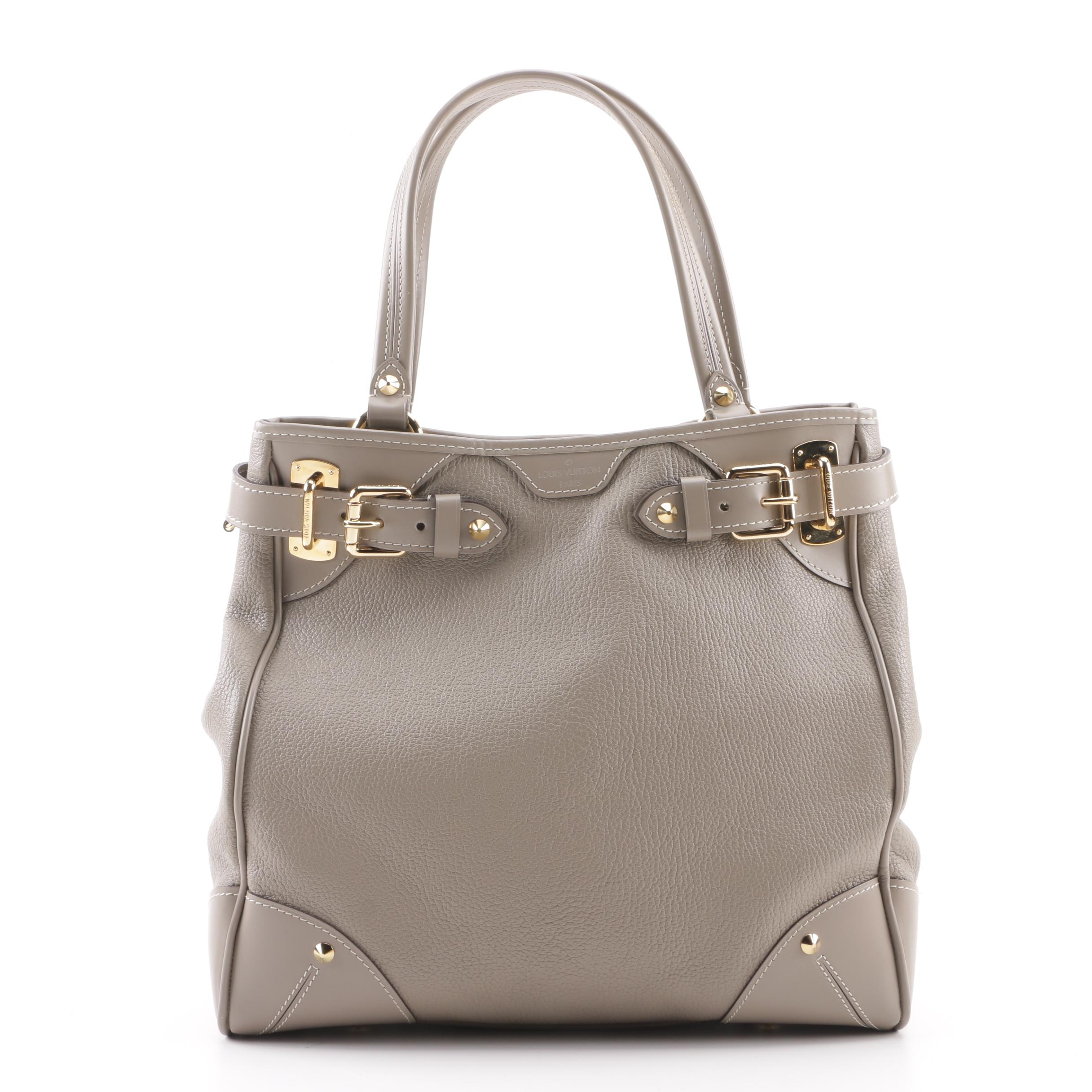 Louis Vuitton Paris Taupe Suhali Leather Majestueux Tote, 2008