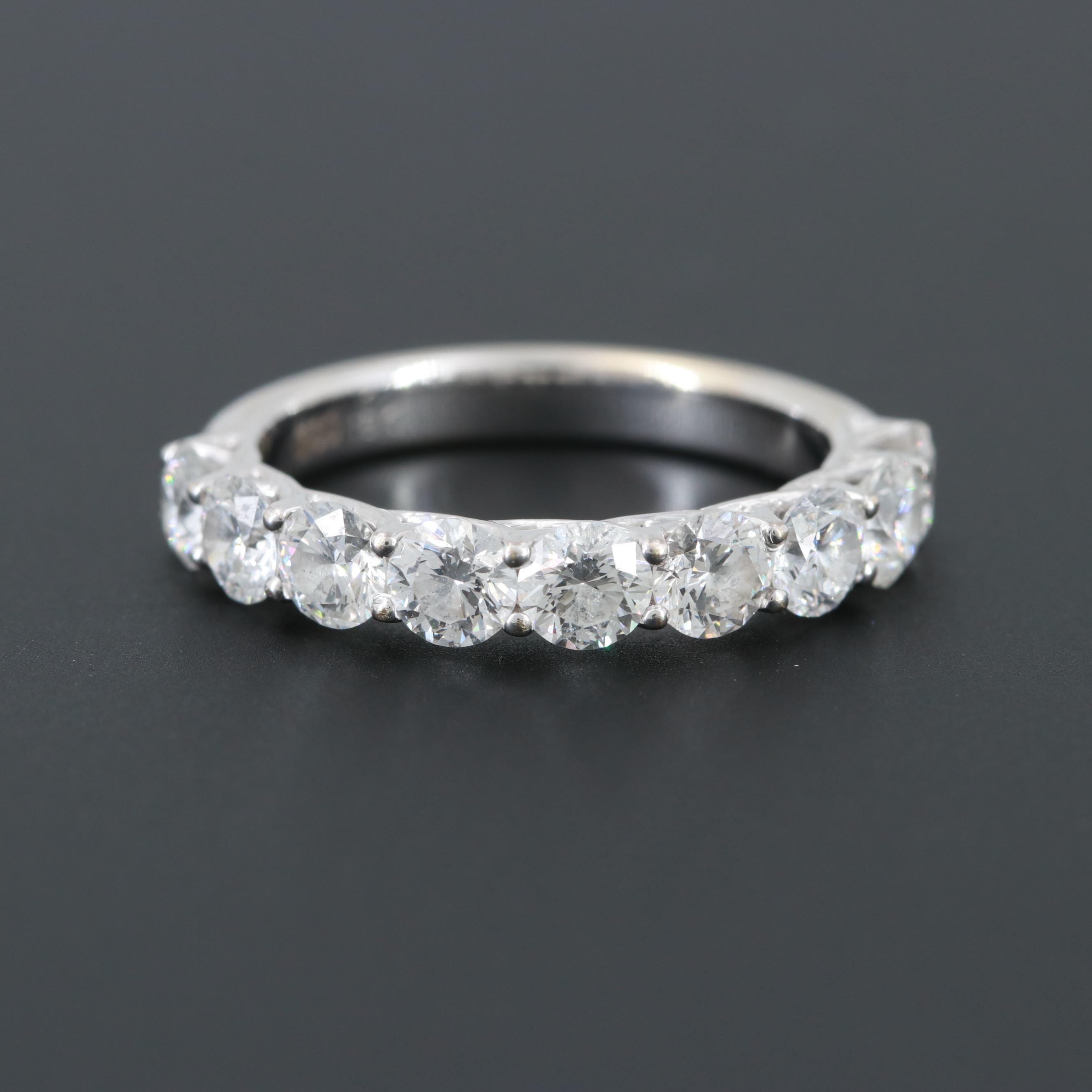 18K White Gold 1.57 CTW Diamond Ring