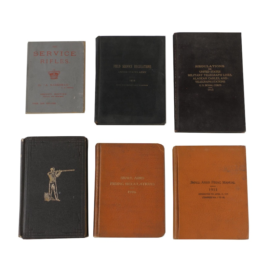 Antique Military Firearms Firing and Regulation Manuals