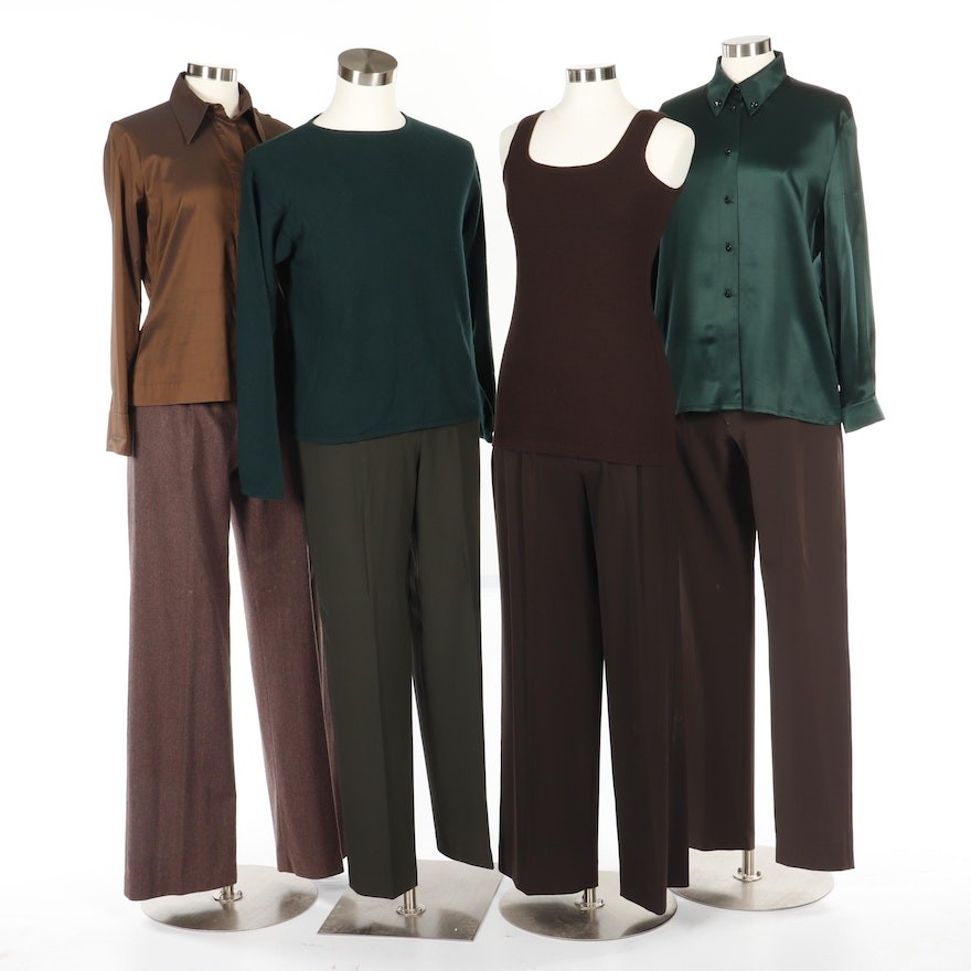 56868277 Women's Tops, Pants and Sweaters Including Prada, Ted Baker and Henri  Bendel ...