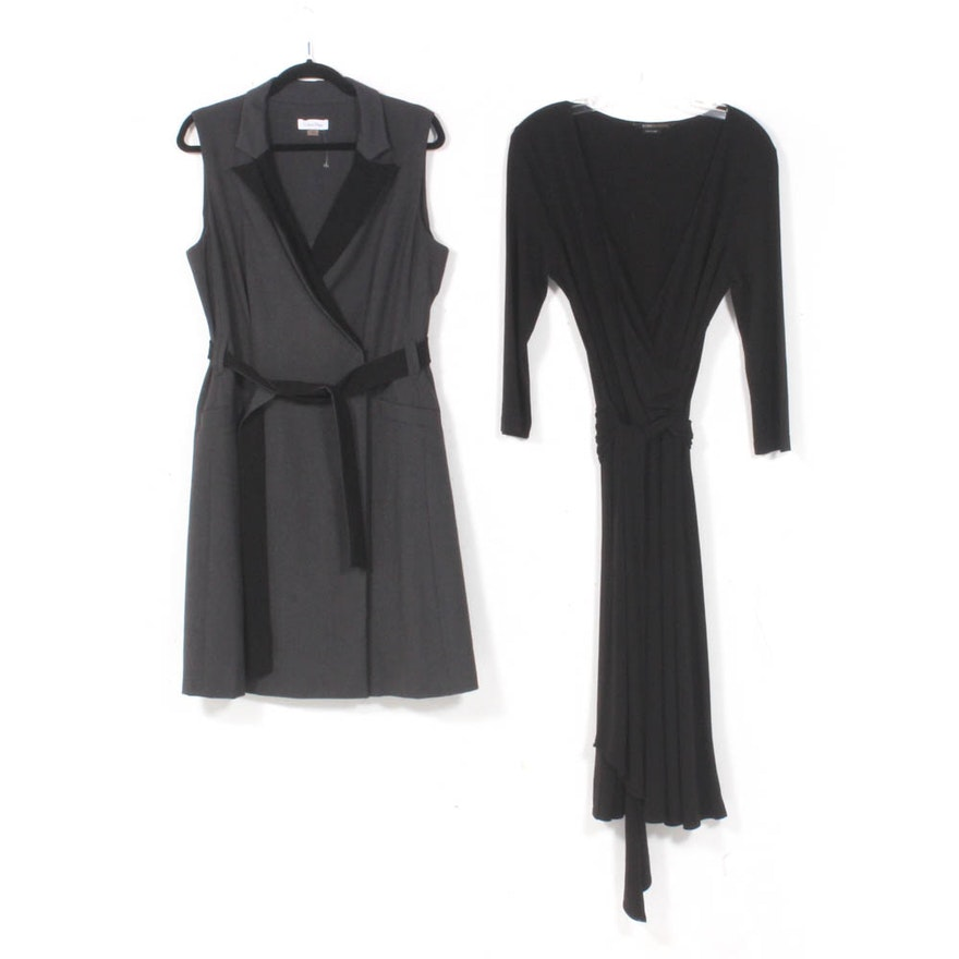 Calvin Klein and BCBG Max Azria Wrap Dresses