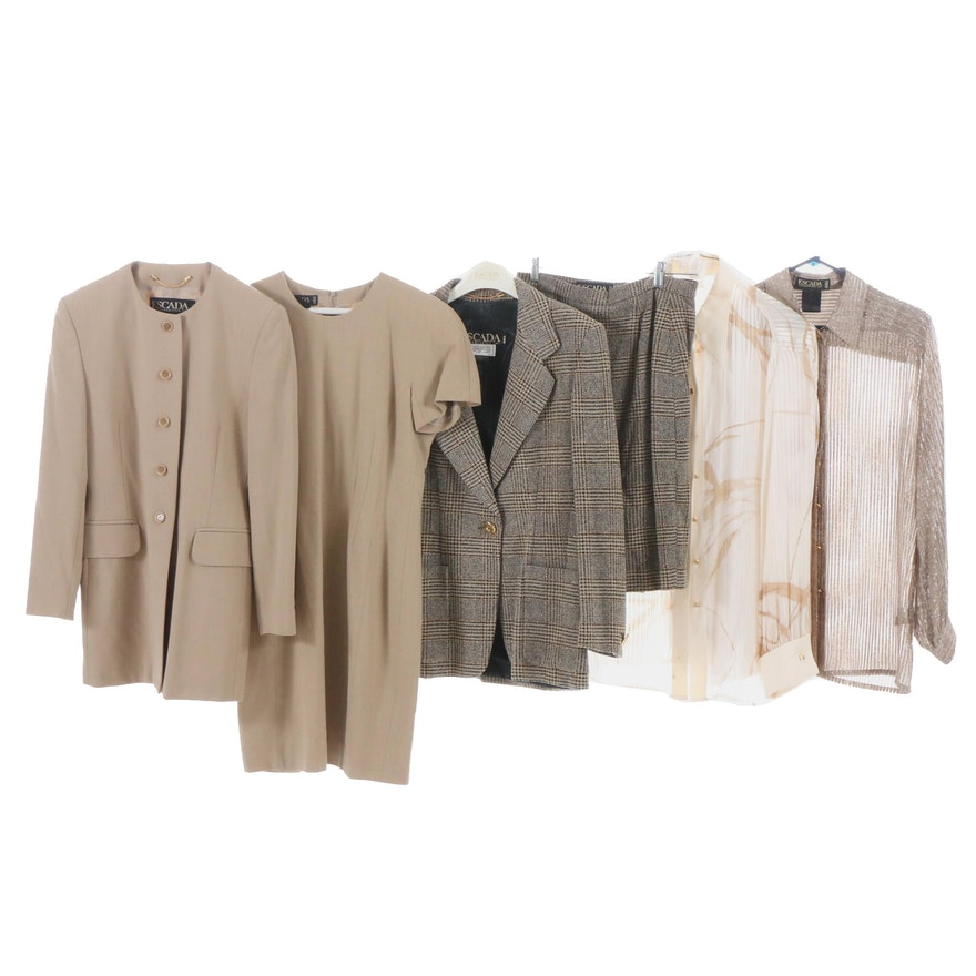 e214d15495ddac Escada Skirt Suit