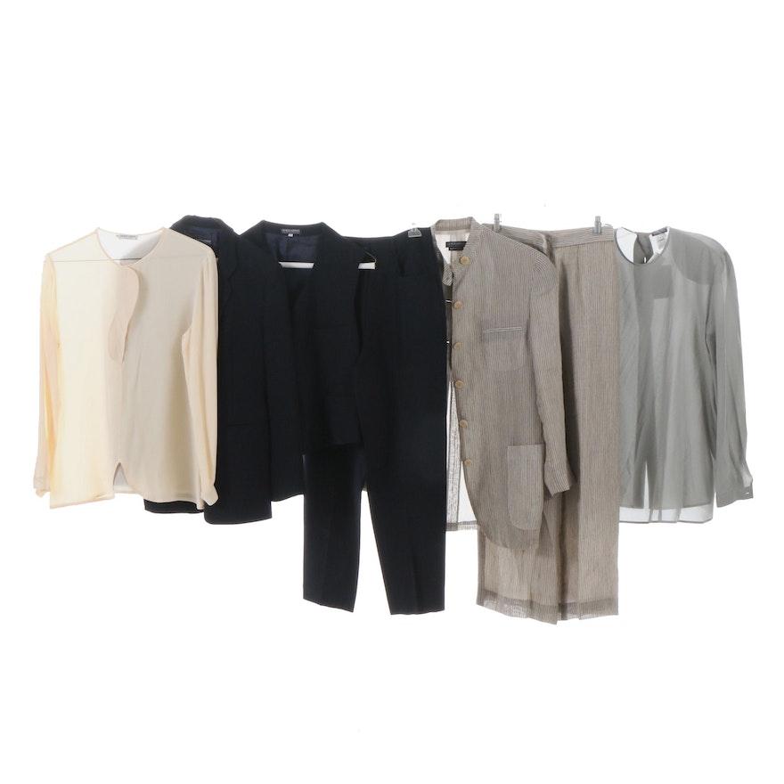 30b76e55a816 Women's Giorgio Armani and Giorgio Armani Le Collezioni Suits and Blouses  ...