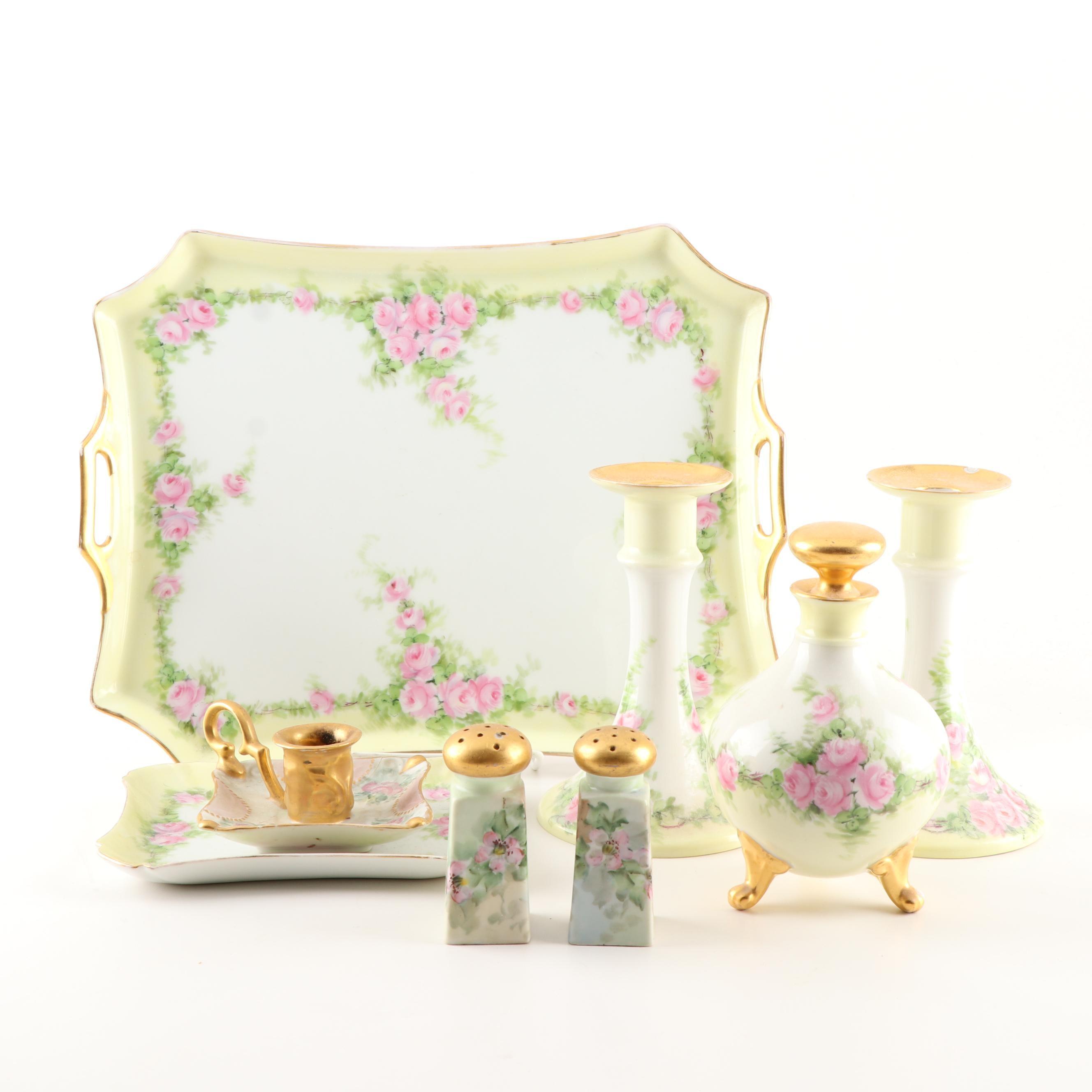Rosenthal Selb-Bavaria Hand-Painted Porcelain Tableware